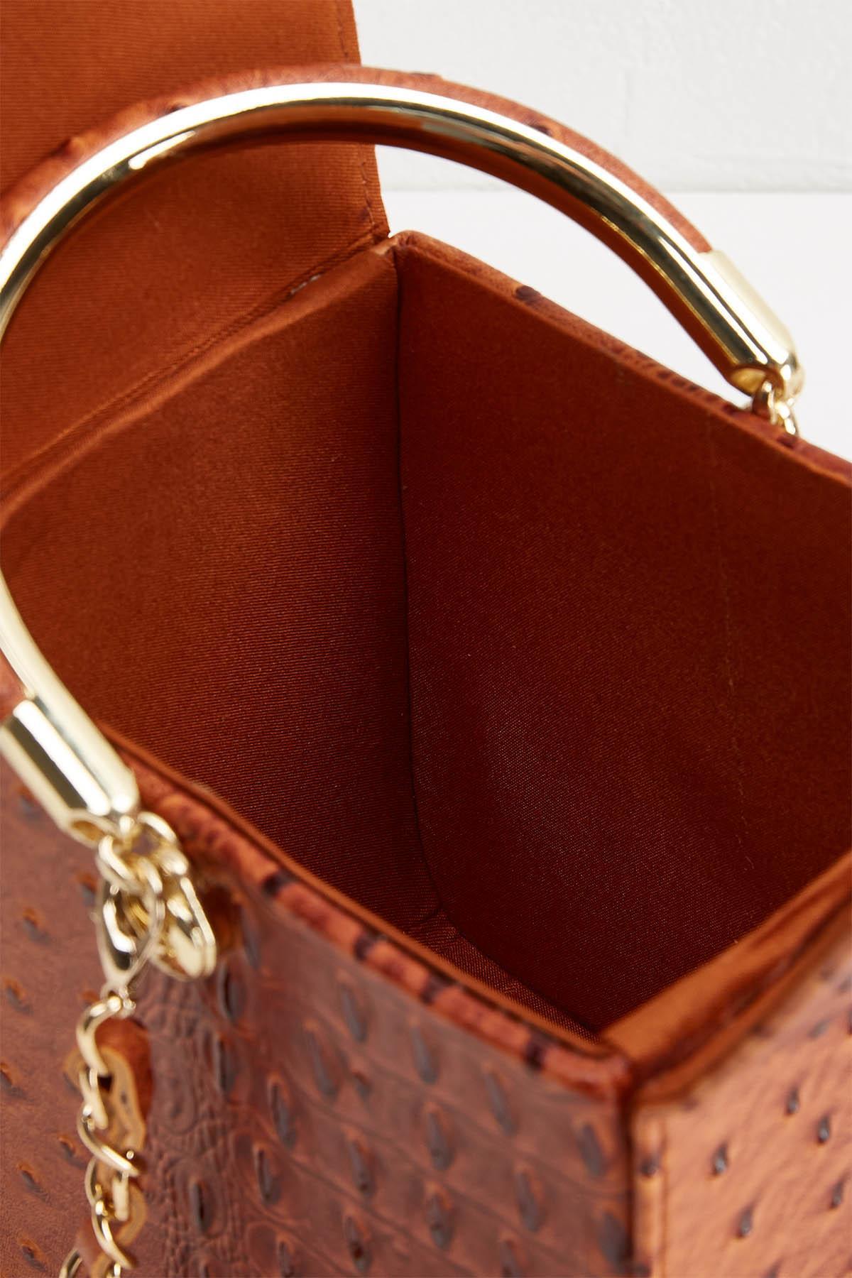 Takeout Textured Handbag