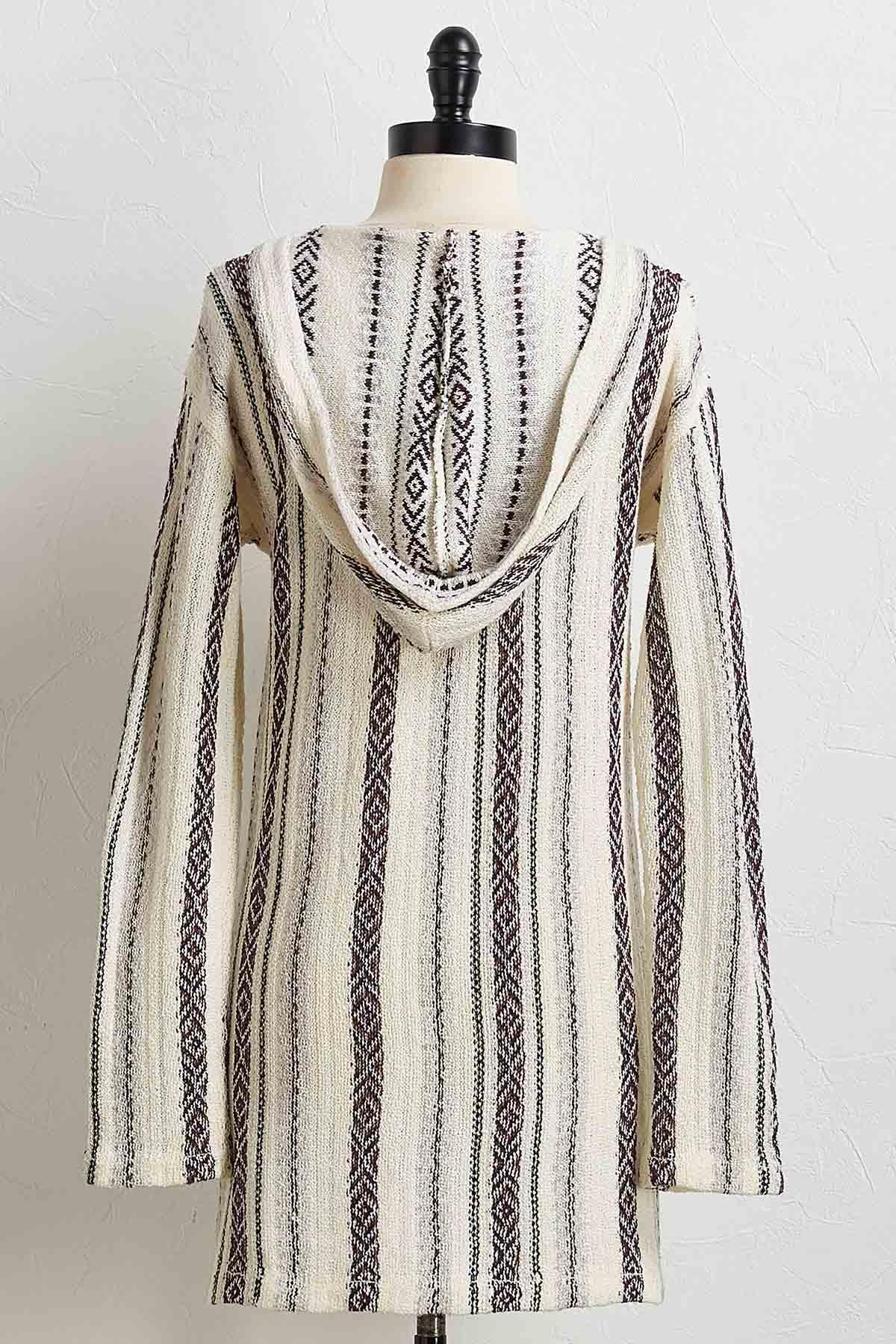 Hooded Blanket Sweater
