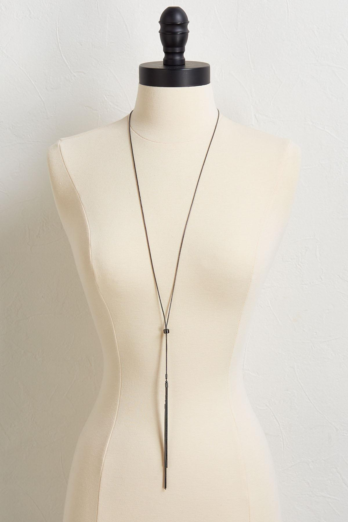 Dainty Chain Y- Necklace