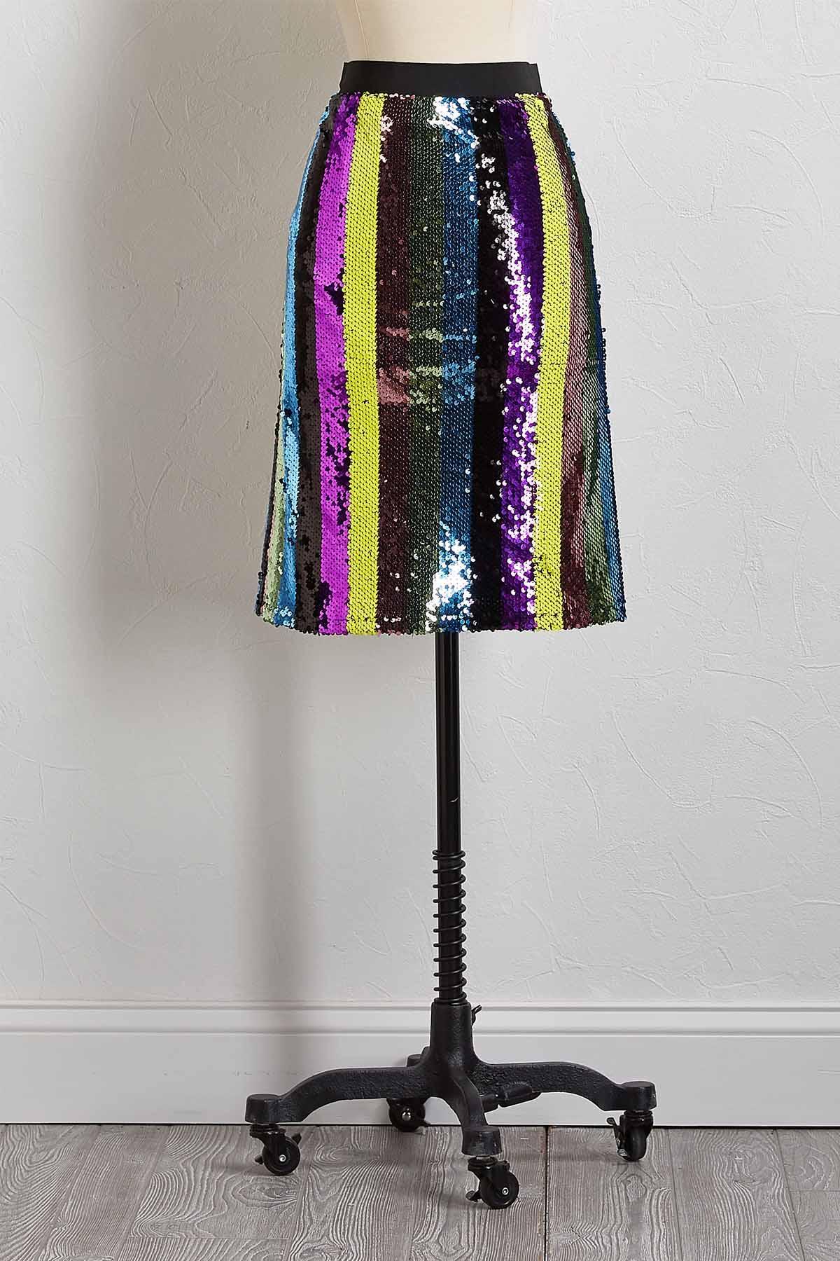 Sparkle Sequin Skirt