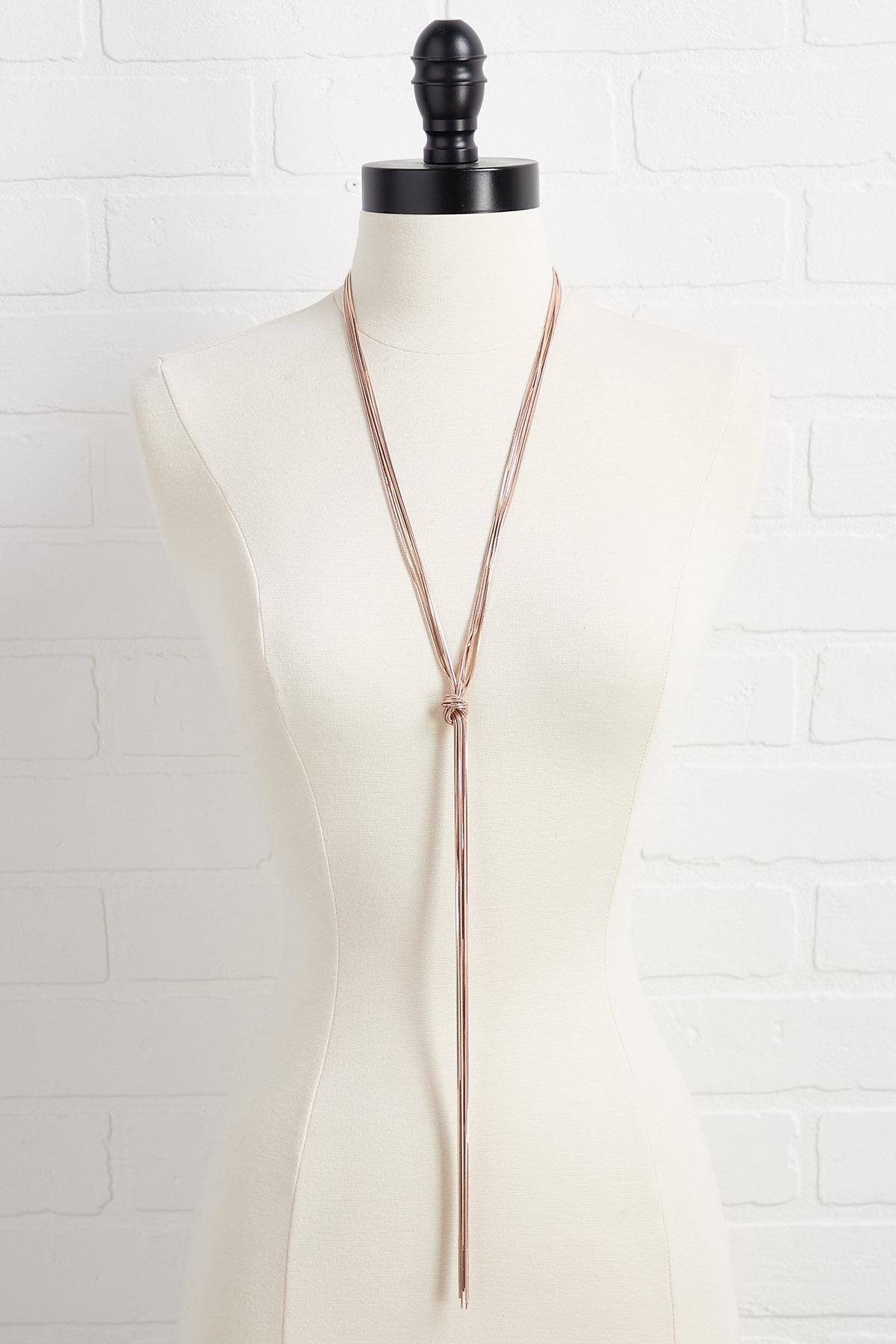 Long Y- Neck Necklace