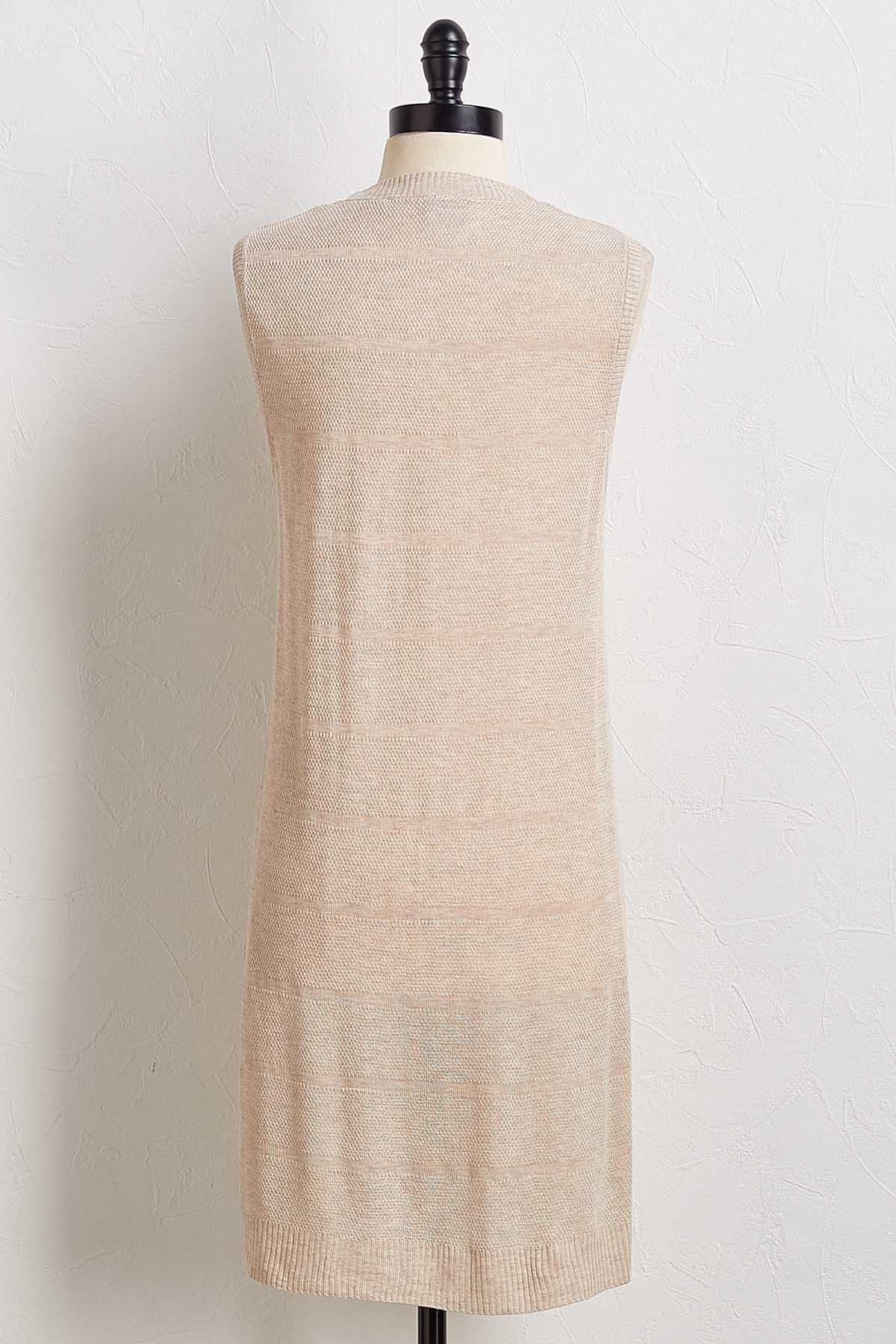 Shadow Stripe Sweater Vest