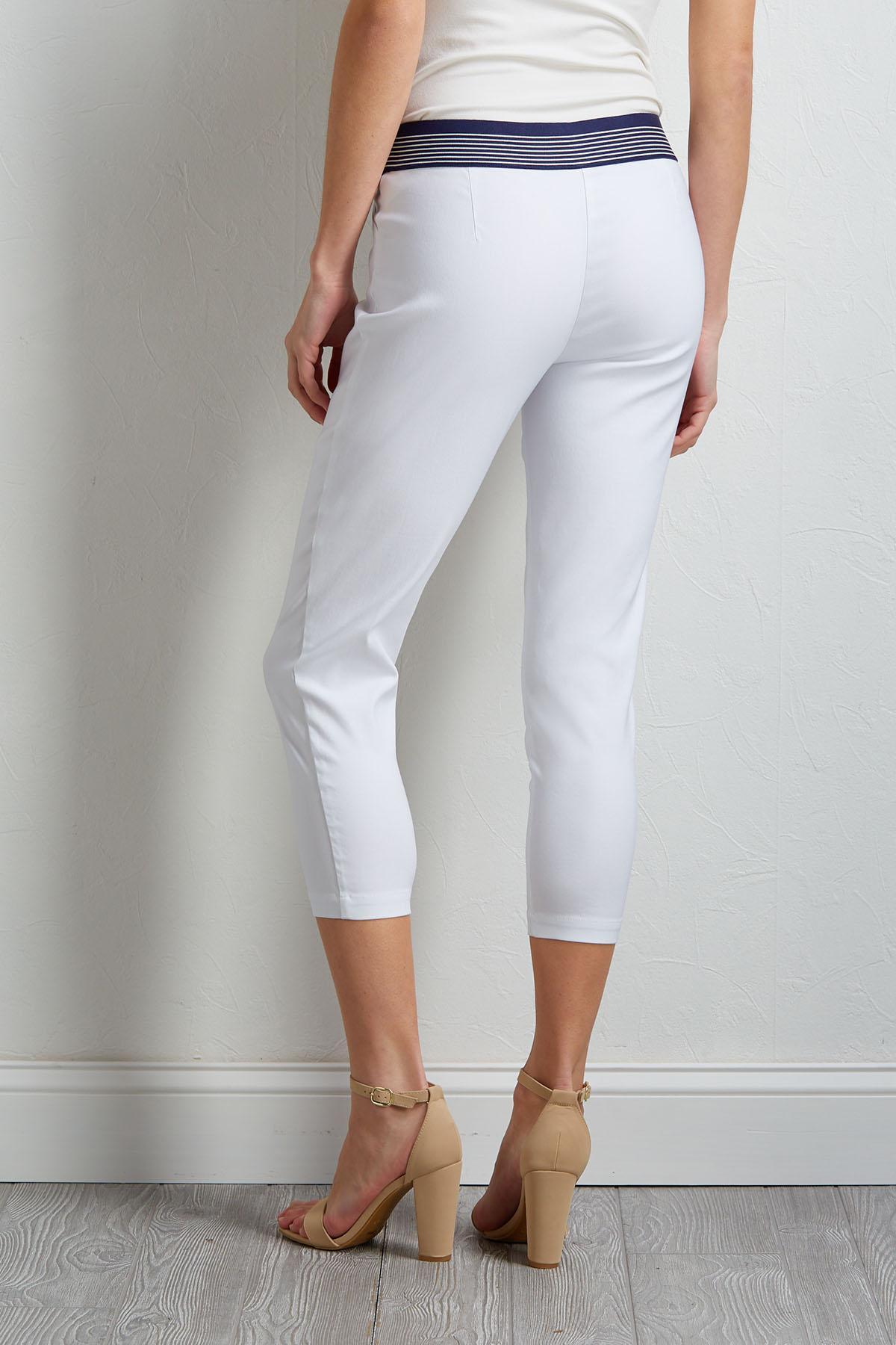 Banded Crop Pants