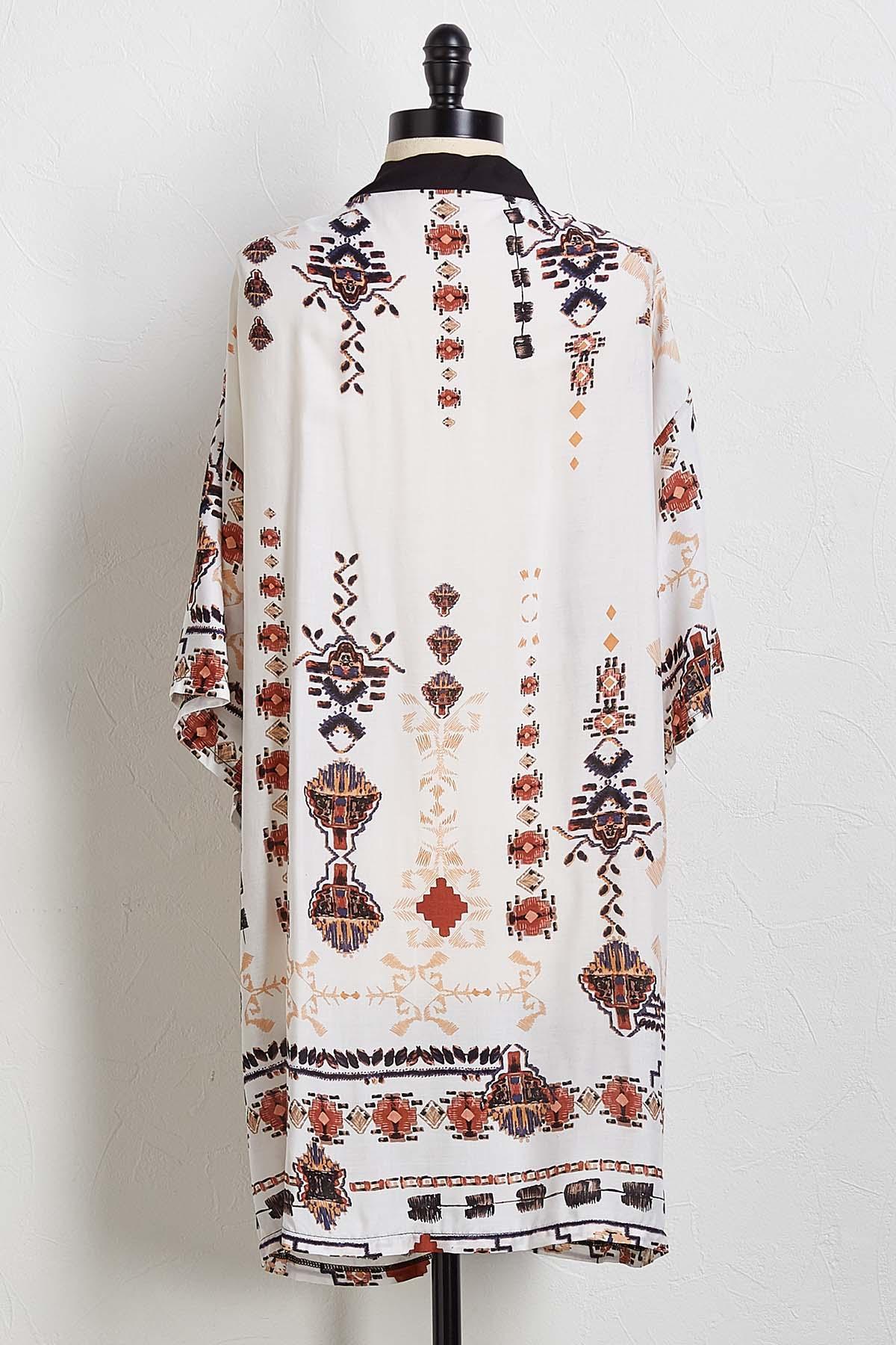 Ivory Island Kimono