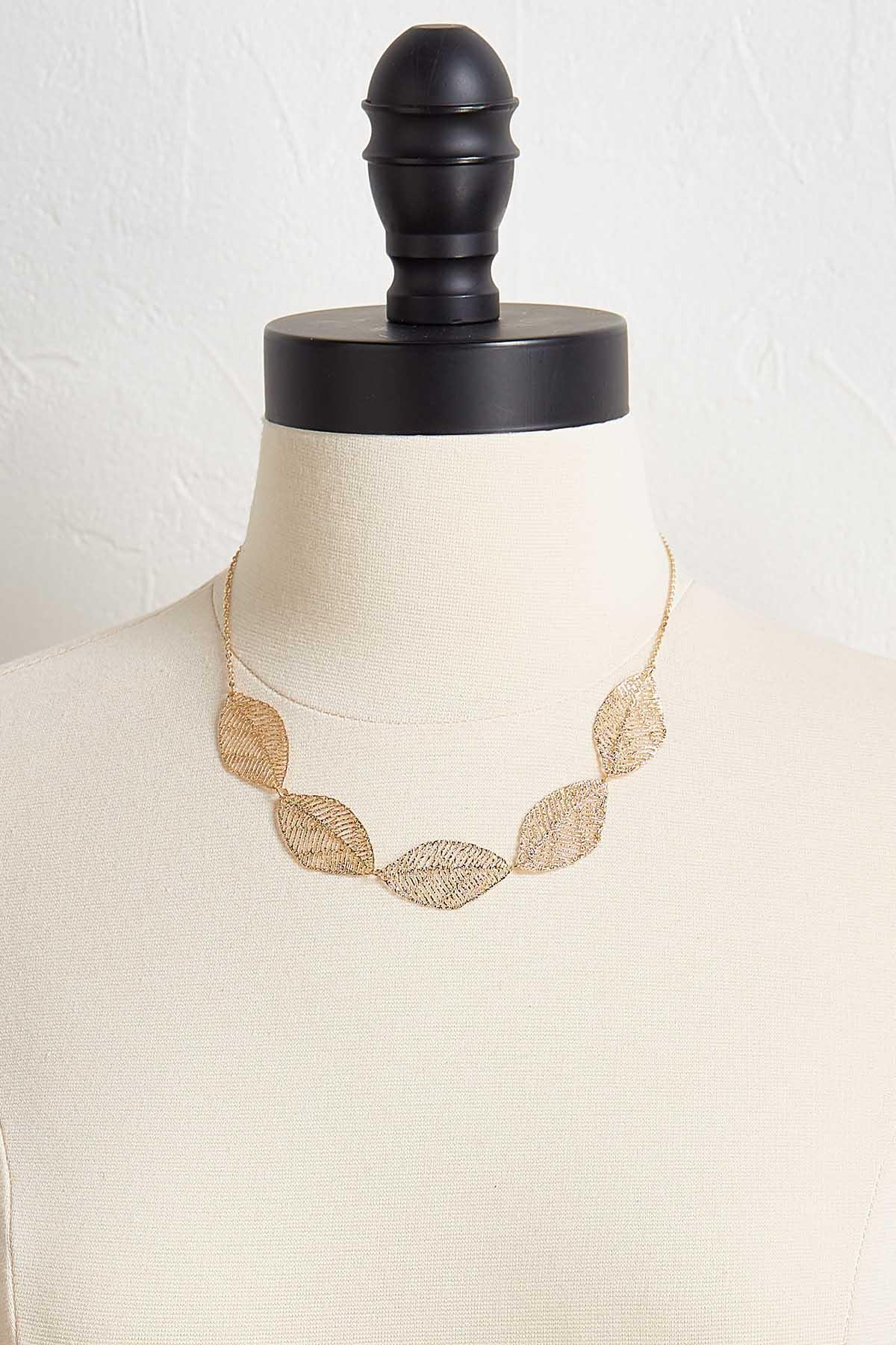 Delicate Leaf Necklace