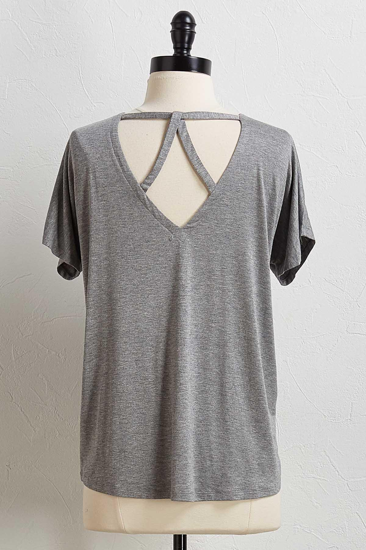 Strappy Back Tee