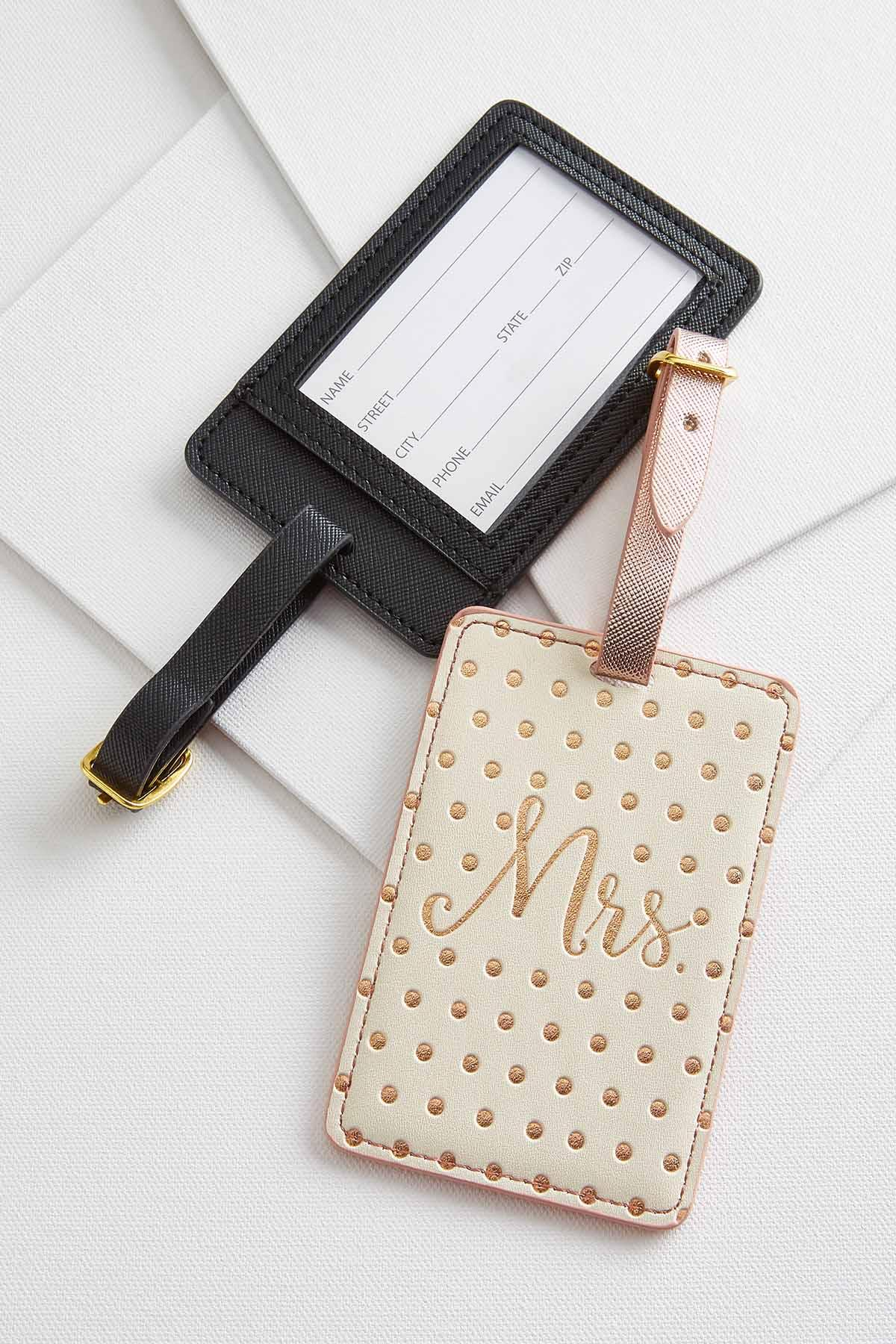 Mr.And Mrs.Luggage Tags