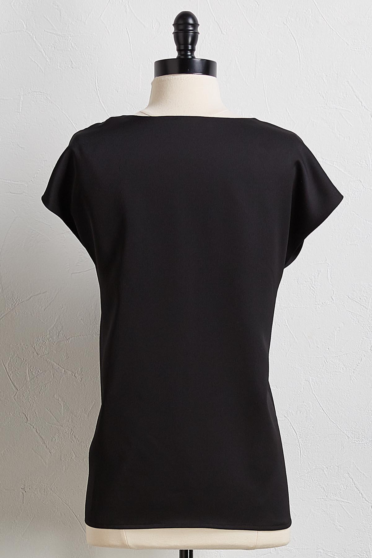 Twist Shoulder Top