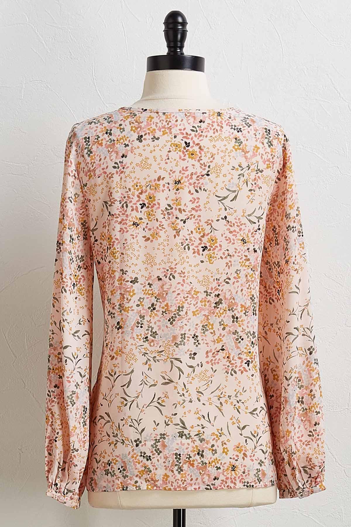 Spring Petal Button Down Shirt