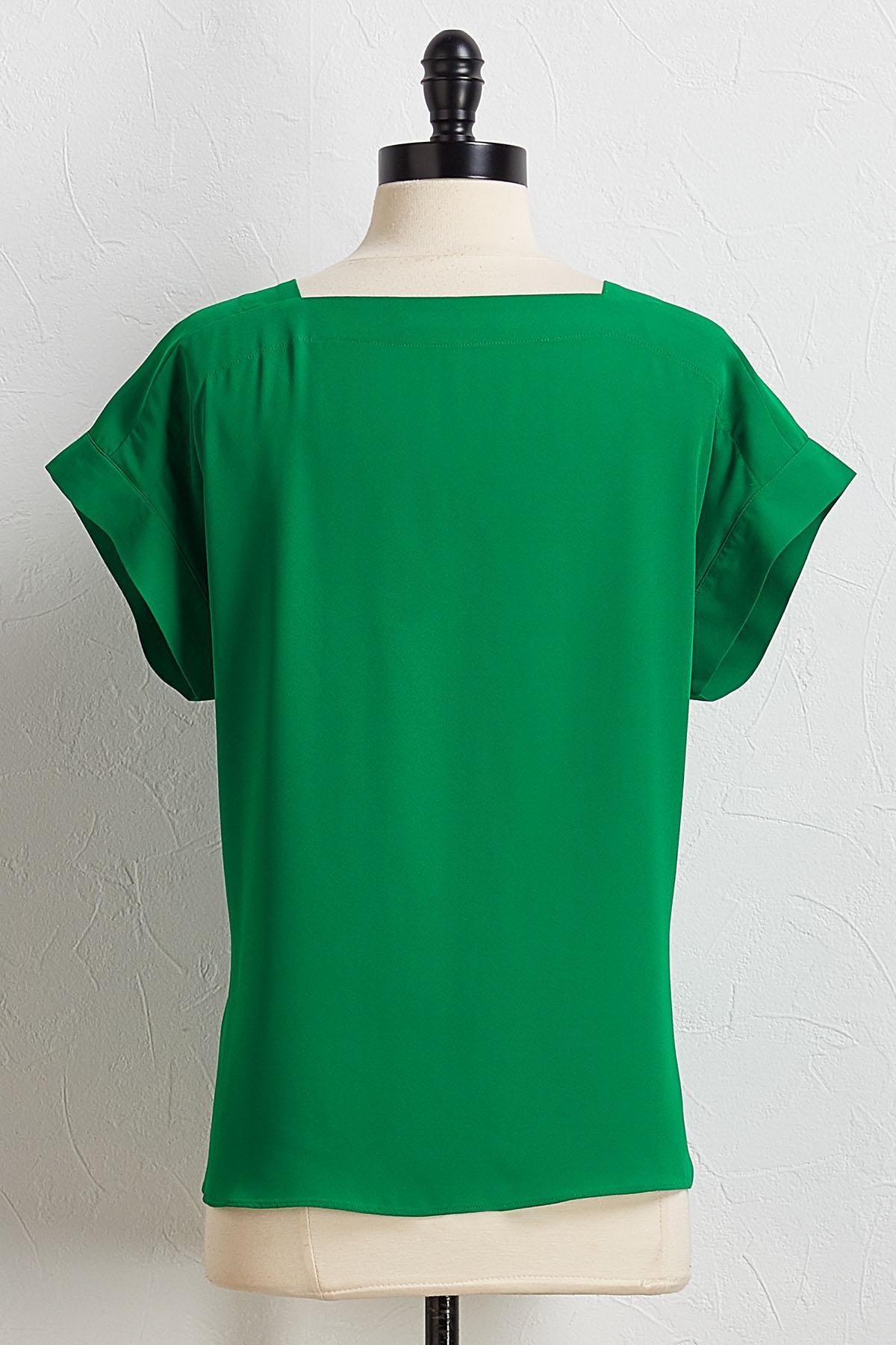 Square Pullover Top