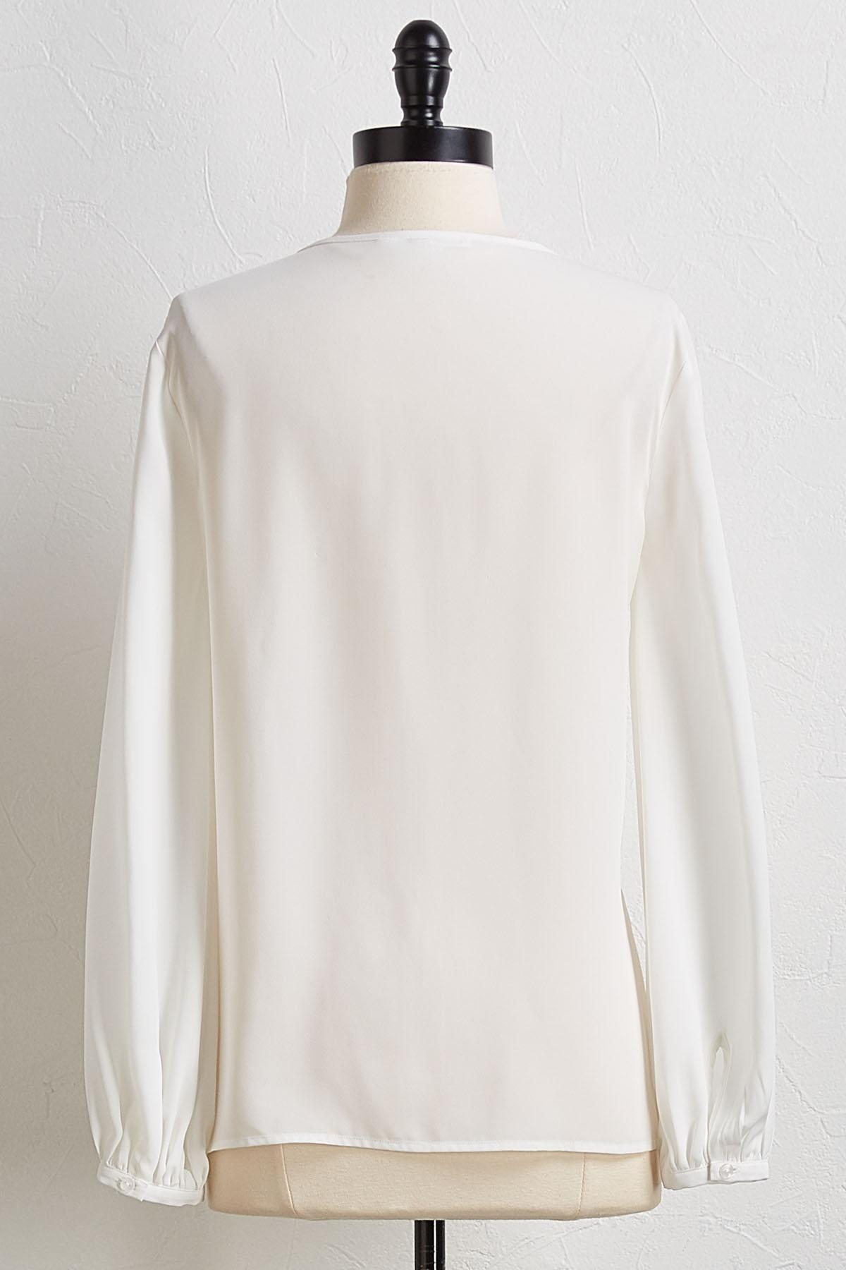 Ivory Pullover Top