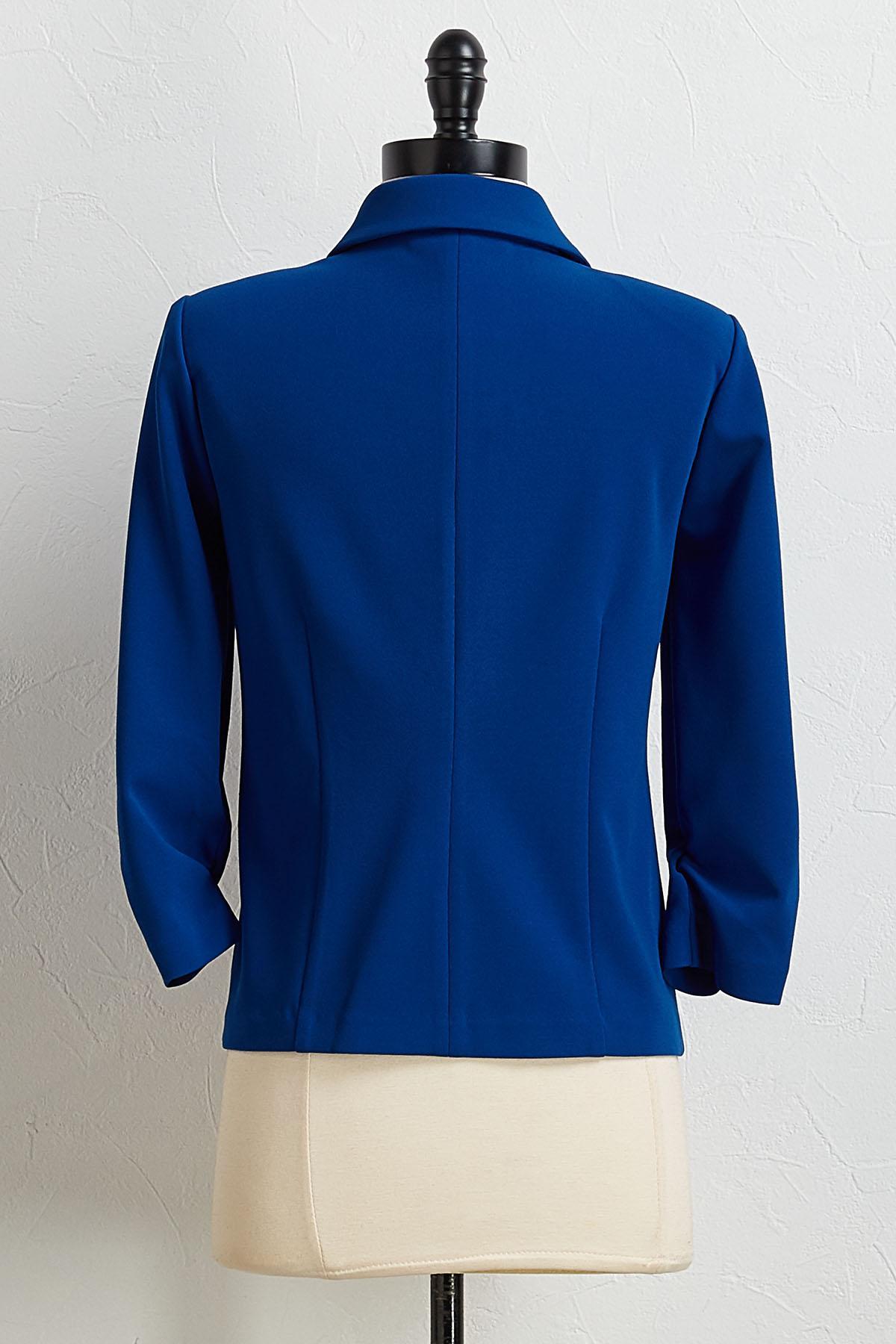 Blue Dressy Blazer
