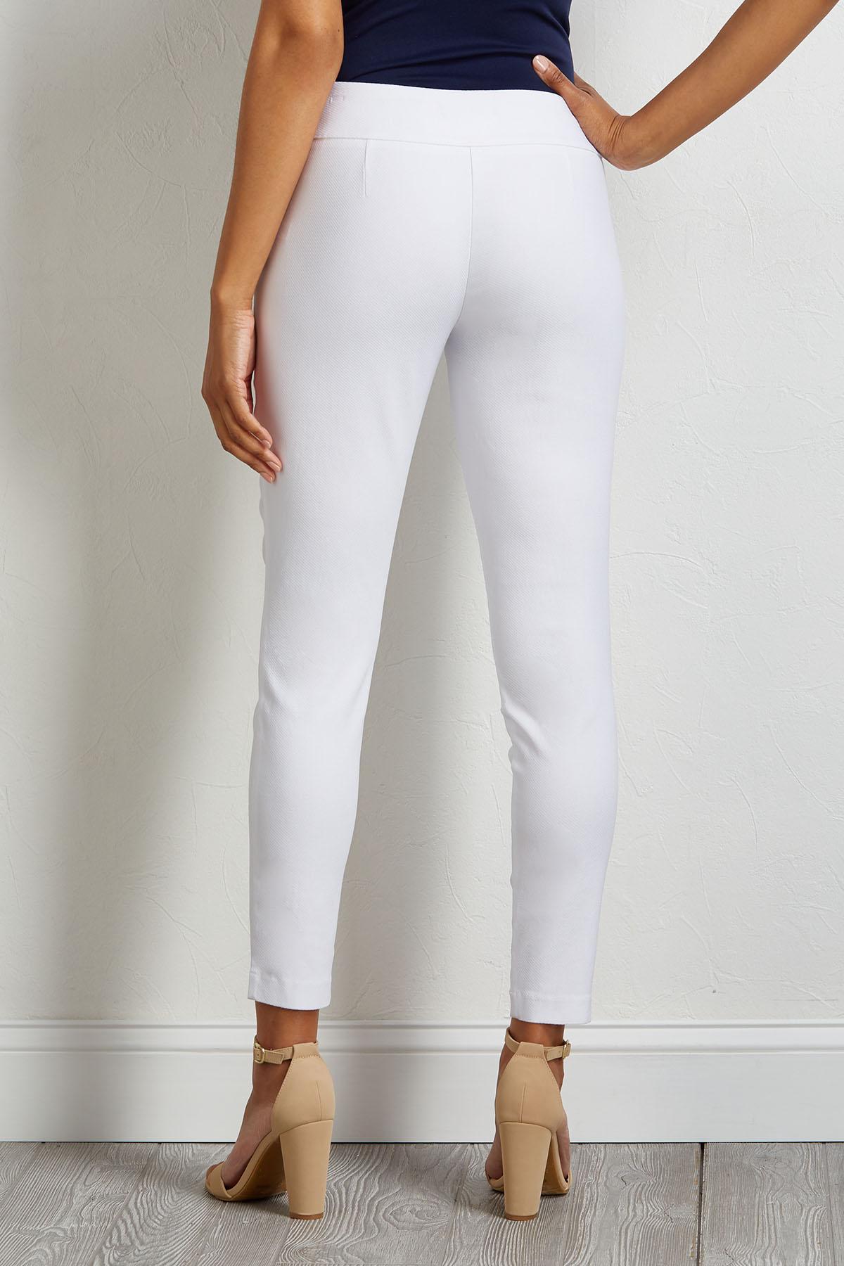 Textured Twill Pants
