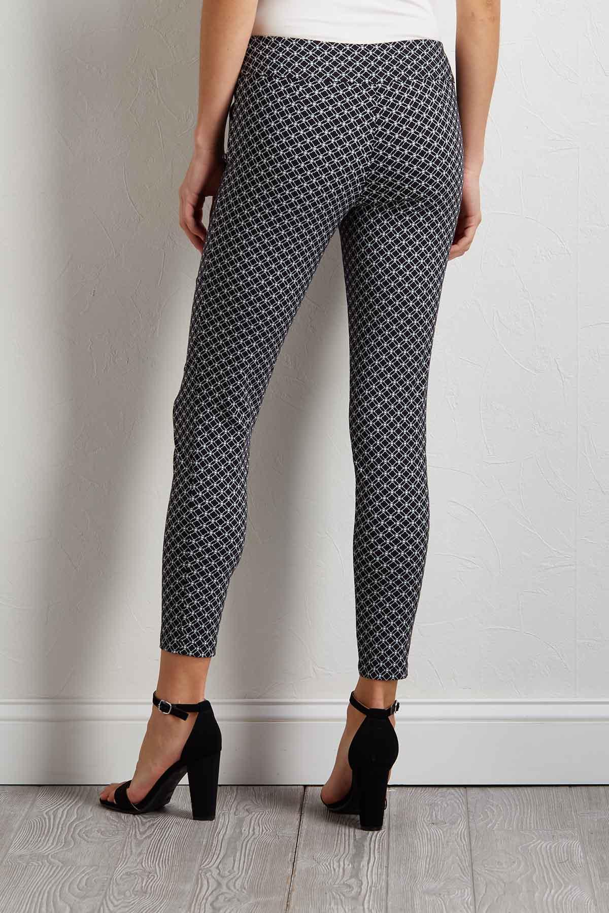 Regal Diamond Ankle Pants
