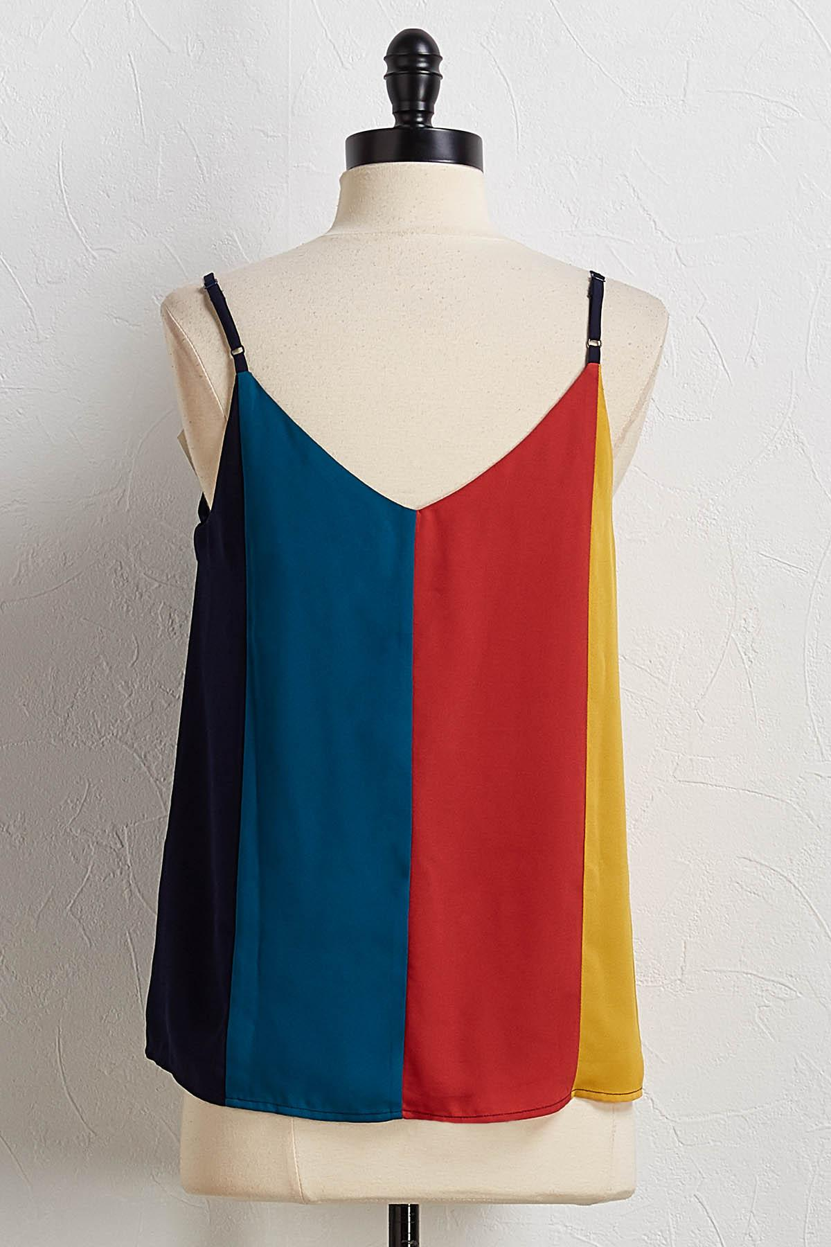 Colorblock Cami