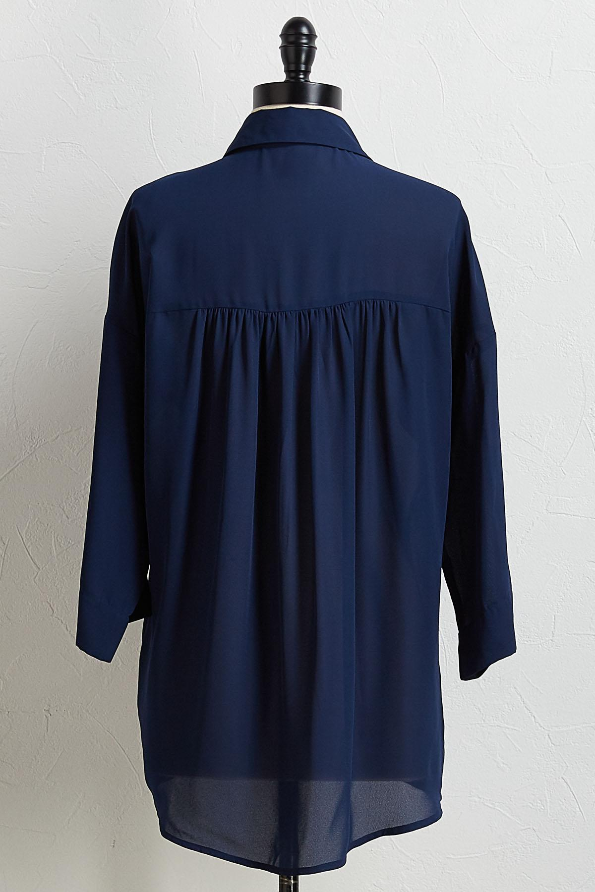 Solid Dolman Sleeve Tunic