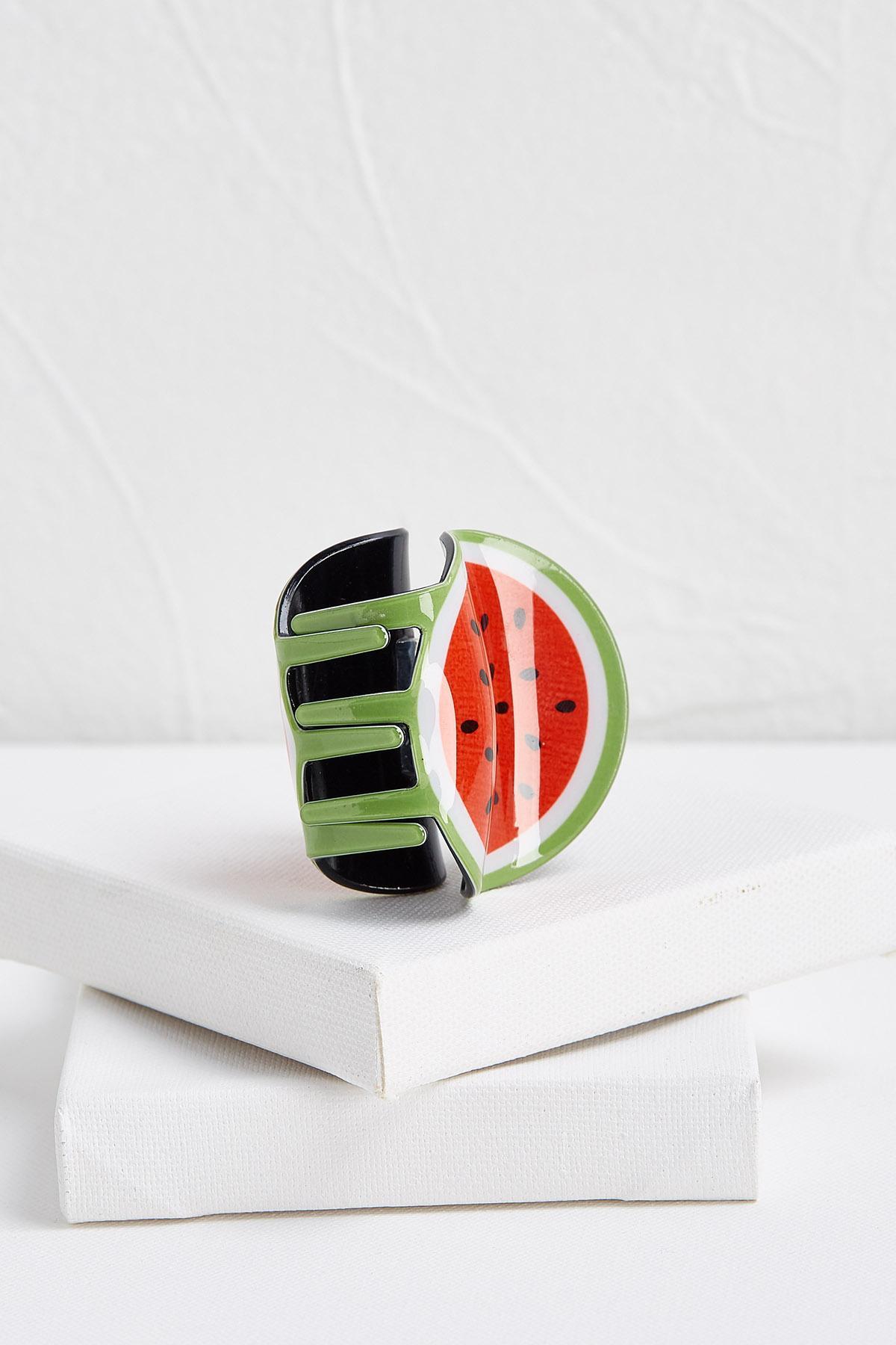 Watermelon Hair Claw