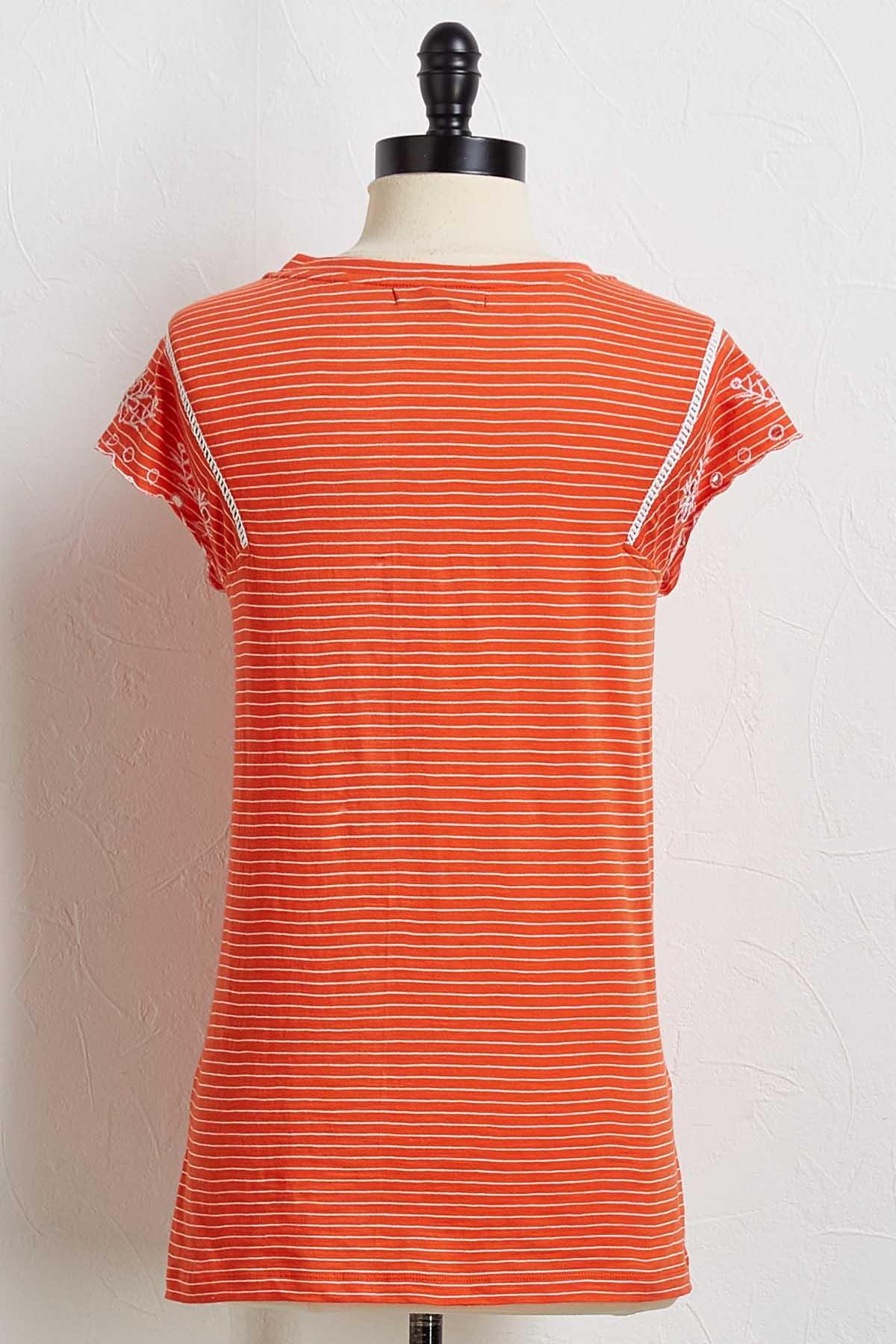 Dreamweaver Striped Tee