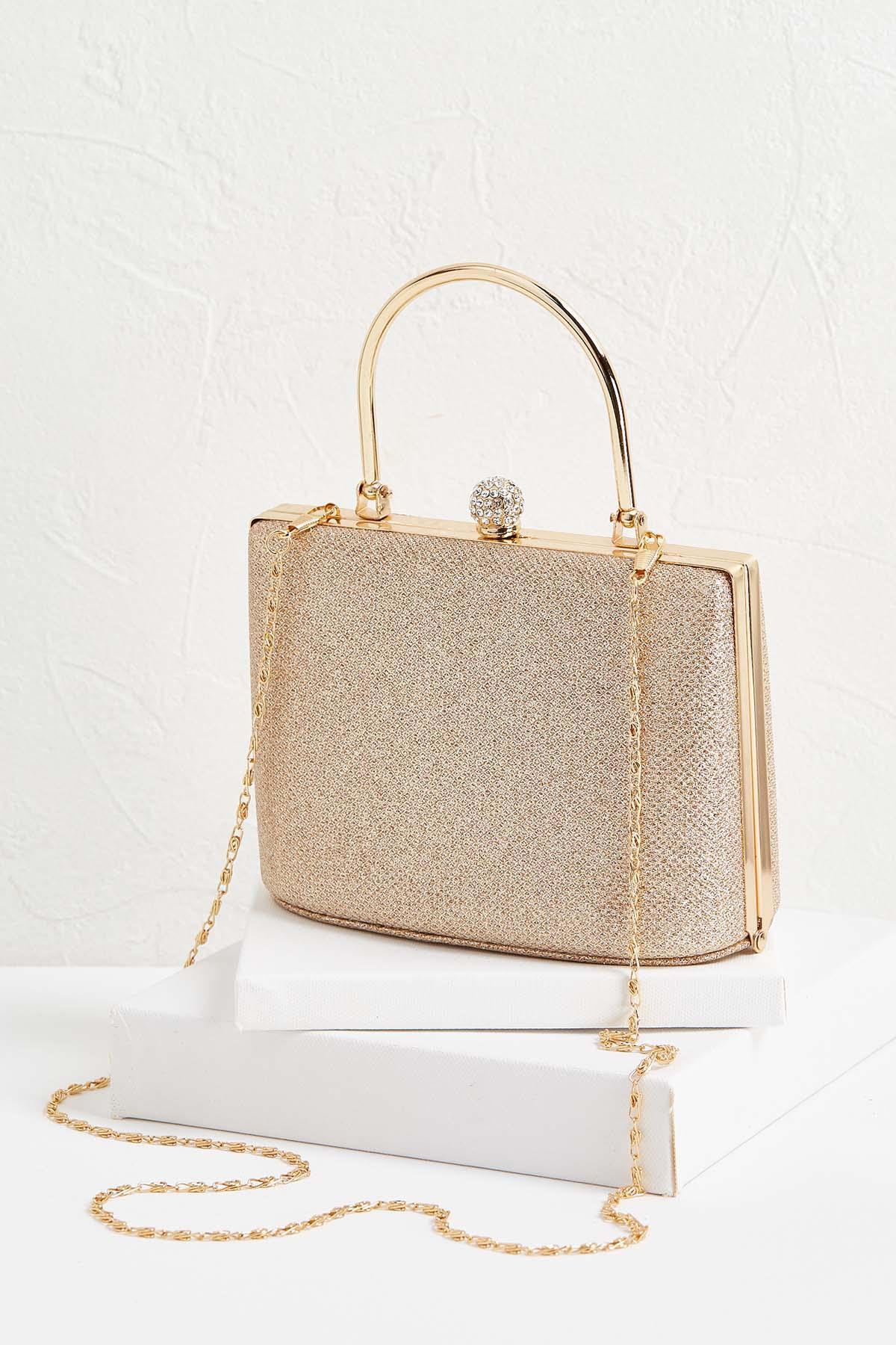 Metallic Box Bags