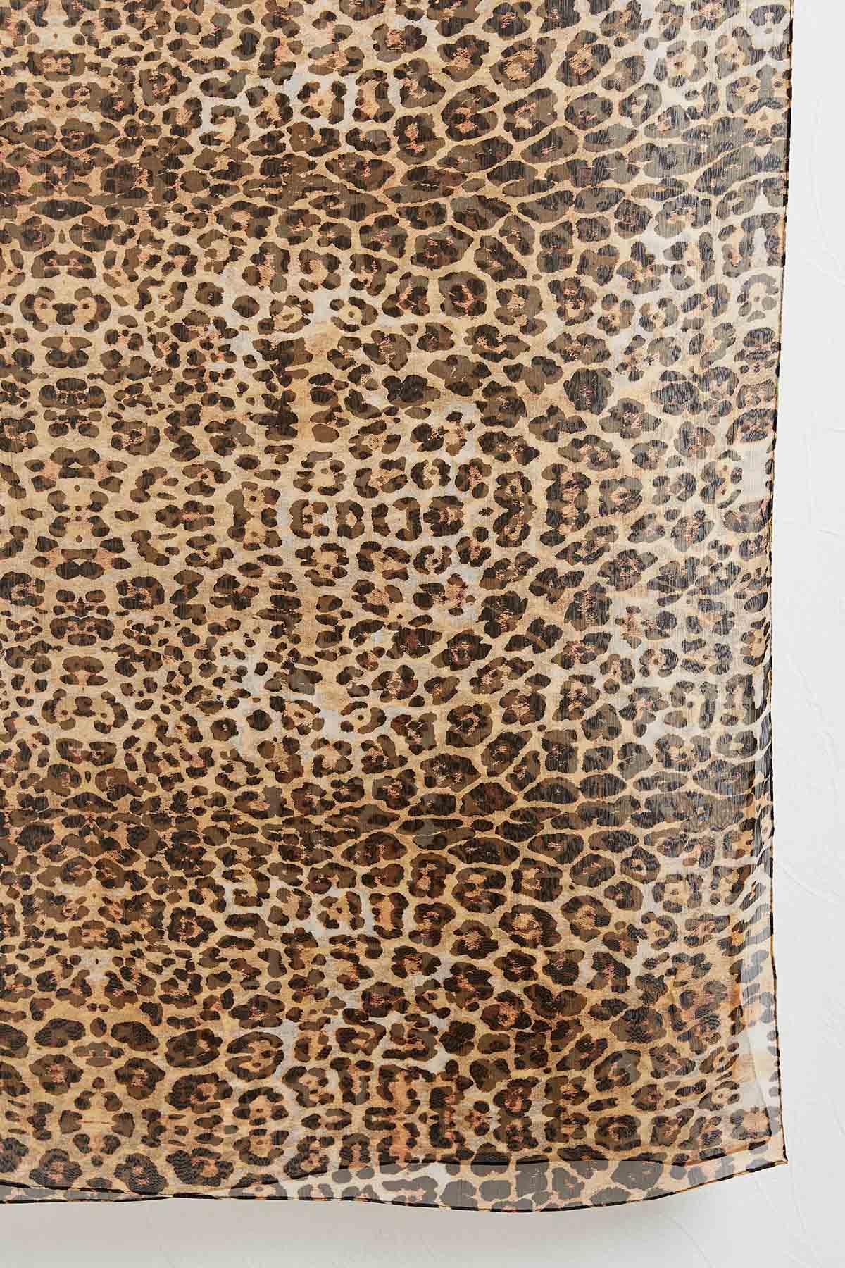 Leopard Oblong Scarf