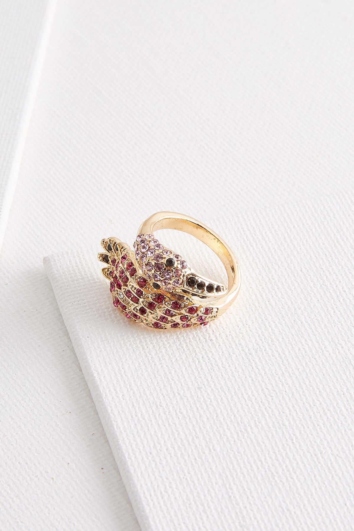 Flamingo Stone Ring