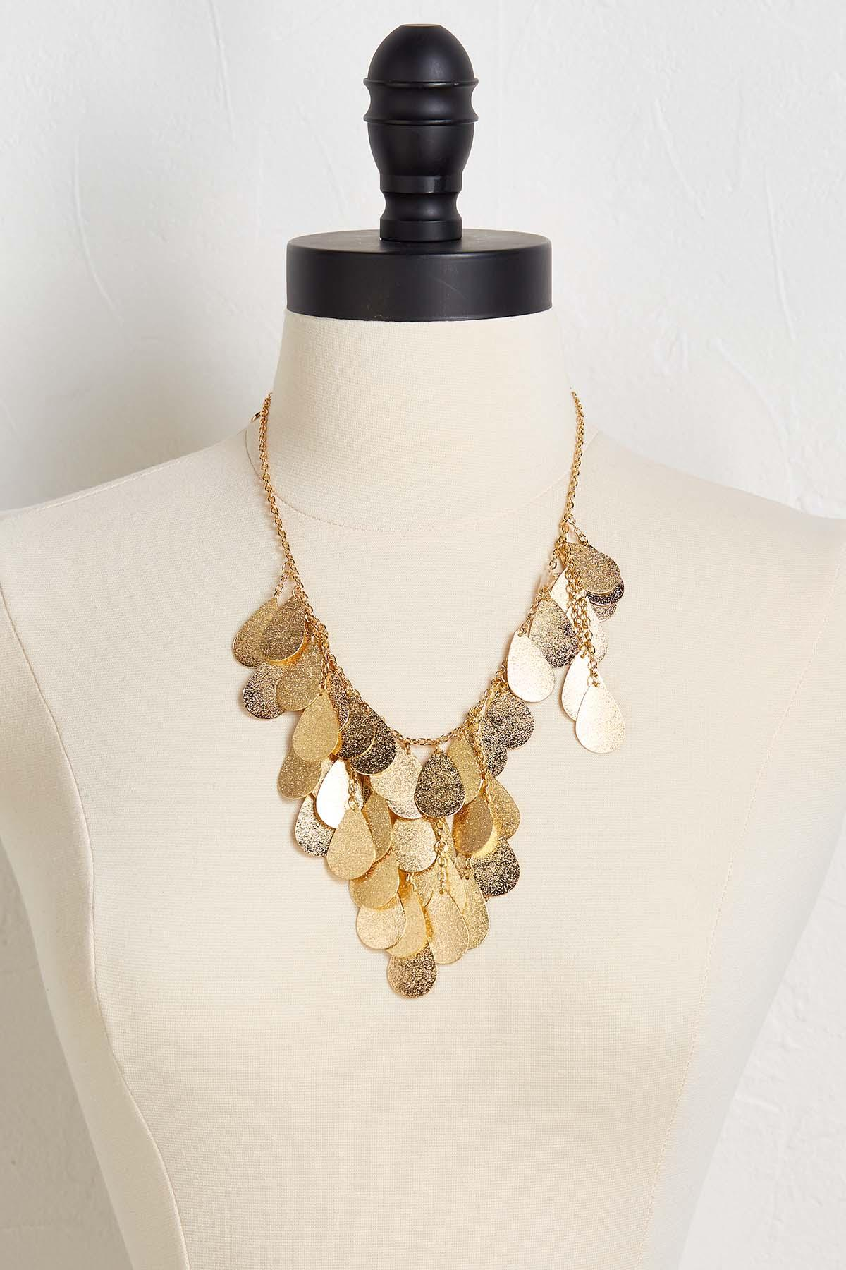 Shake And Shimmer Bib Necklace