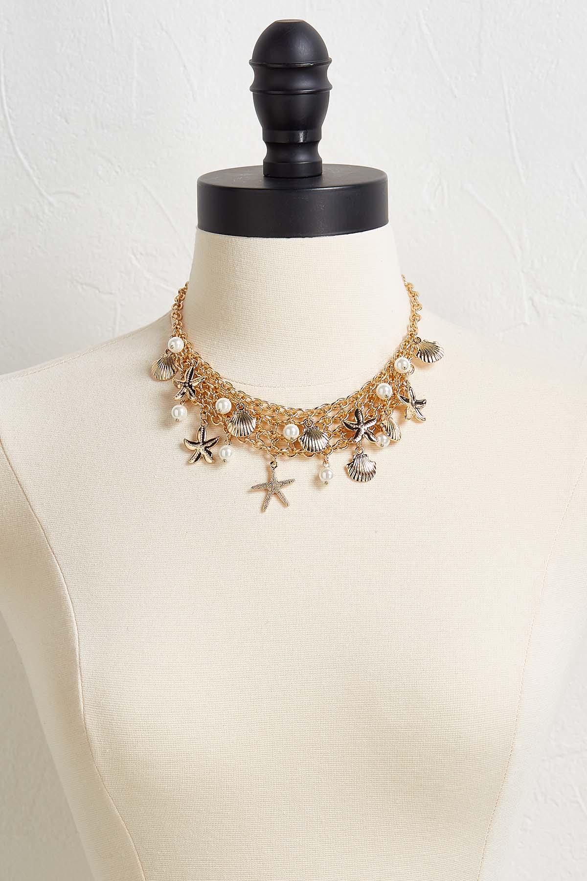 Sea Life Bib Necklace