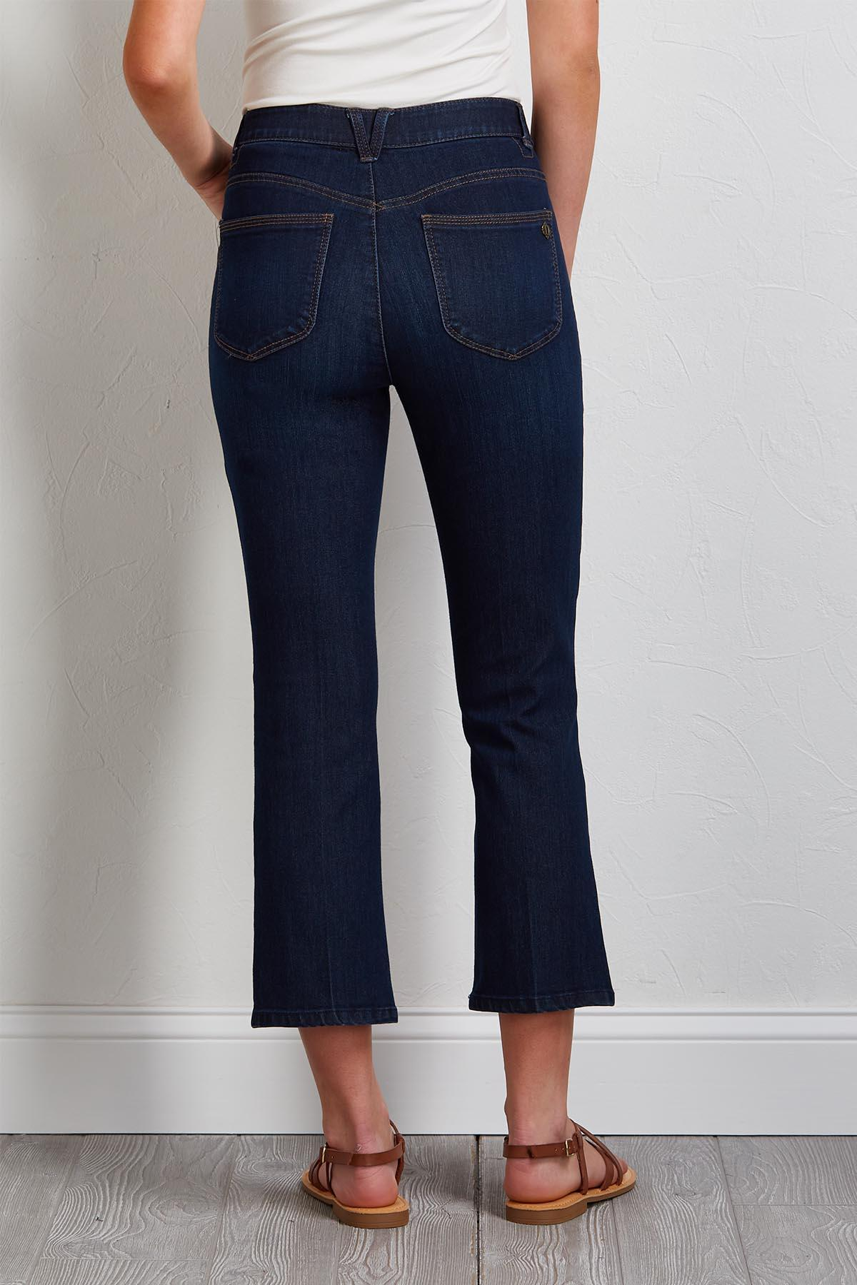 High Rise Kick Flare Pants