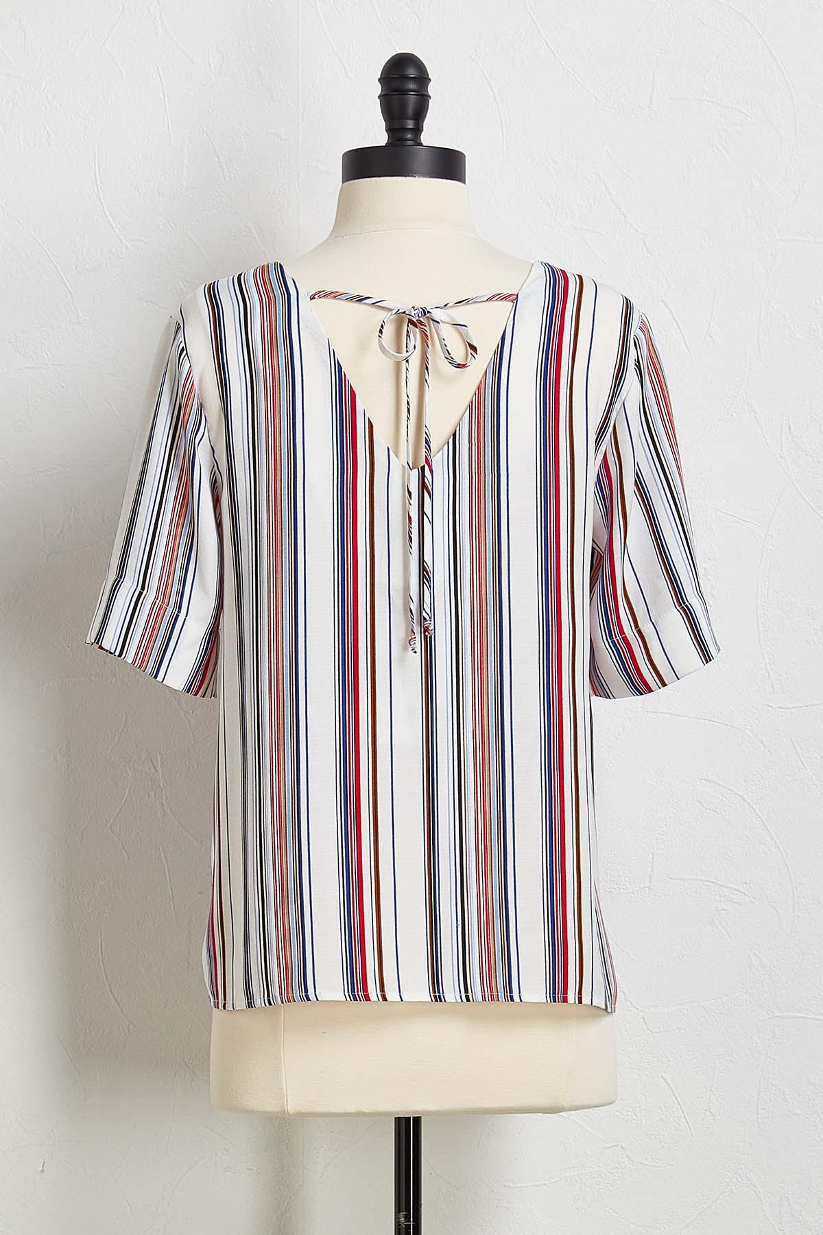 Americana Button Front Top