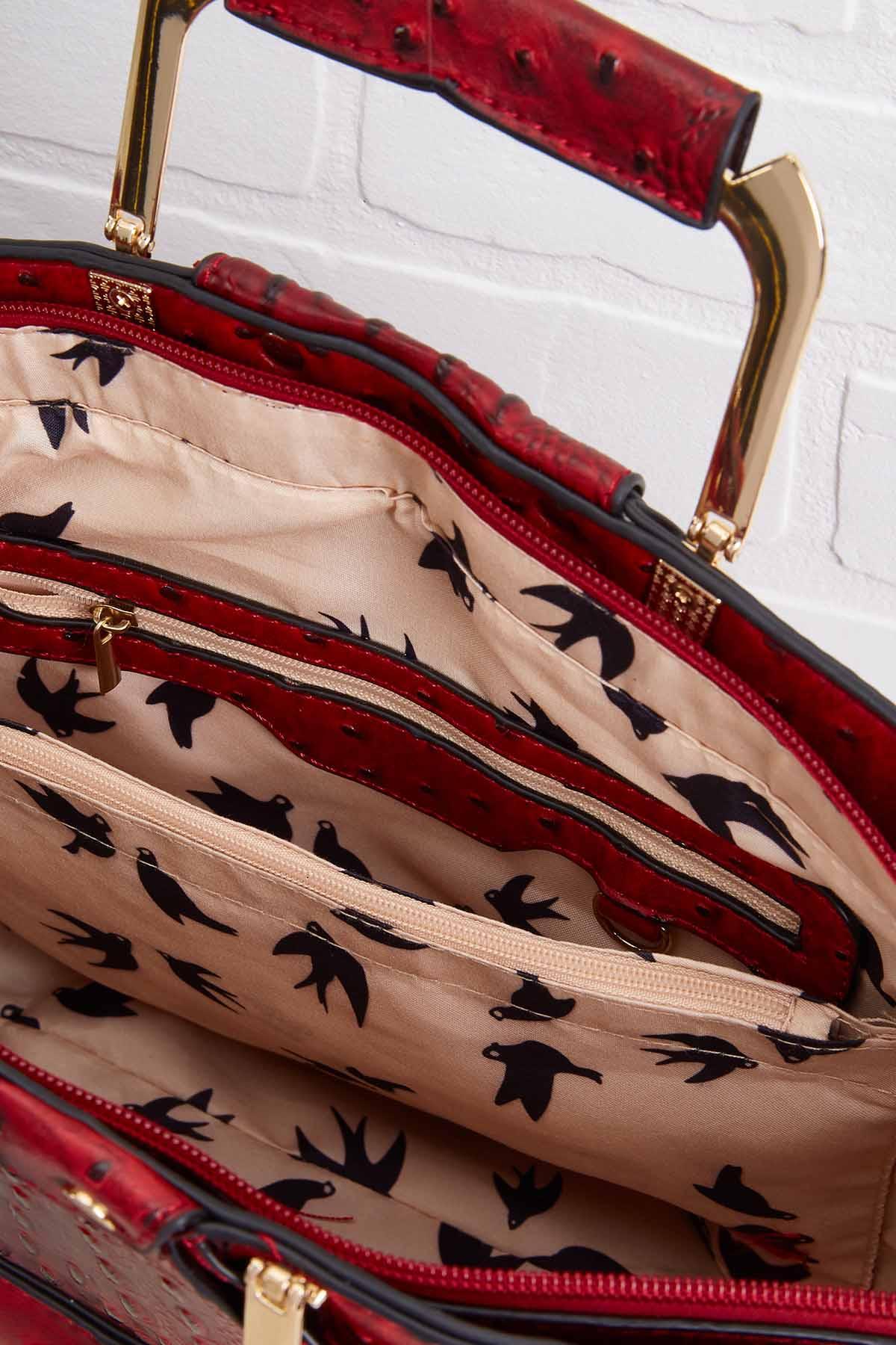 Textured Fan Bag
