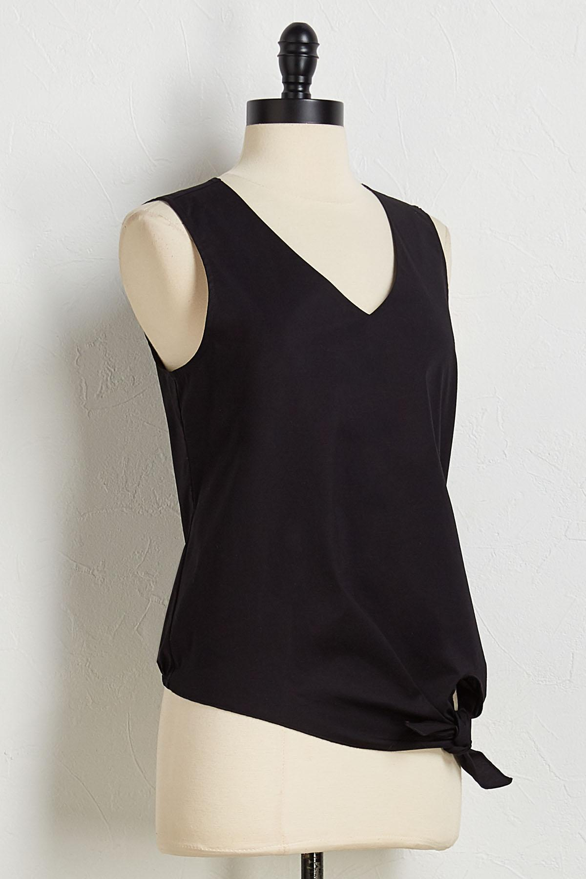Cotton Knotted Top