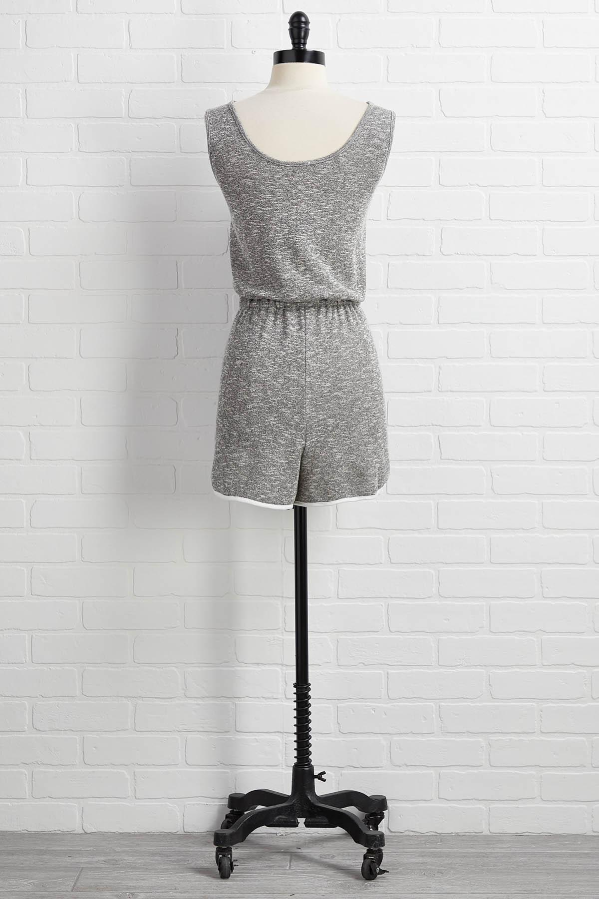 Keep Knit Going Romper