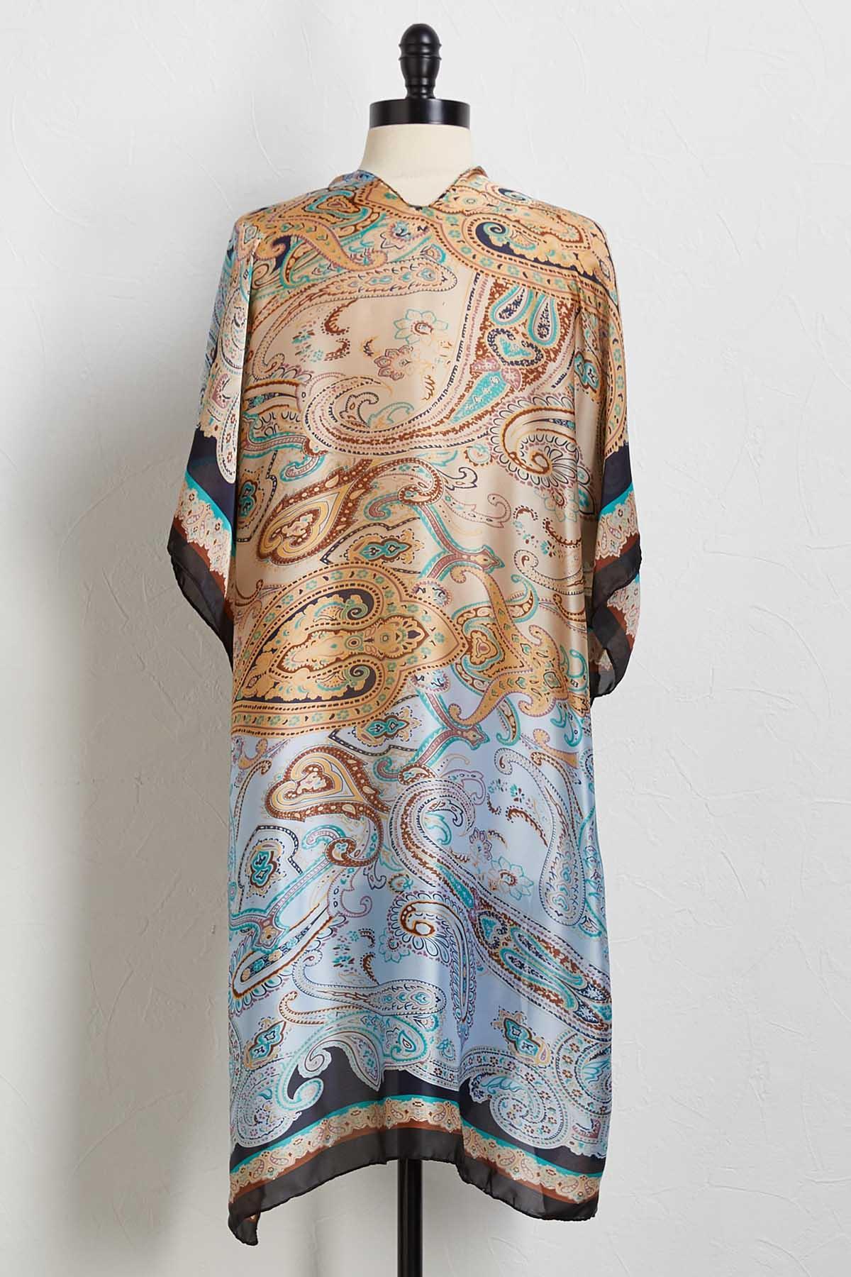 Paisley Traveler Kimono
