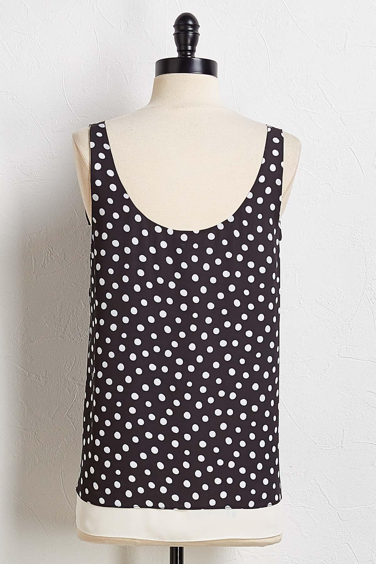 Darling Dotted Tank