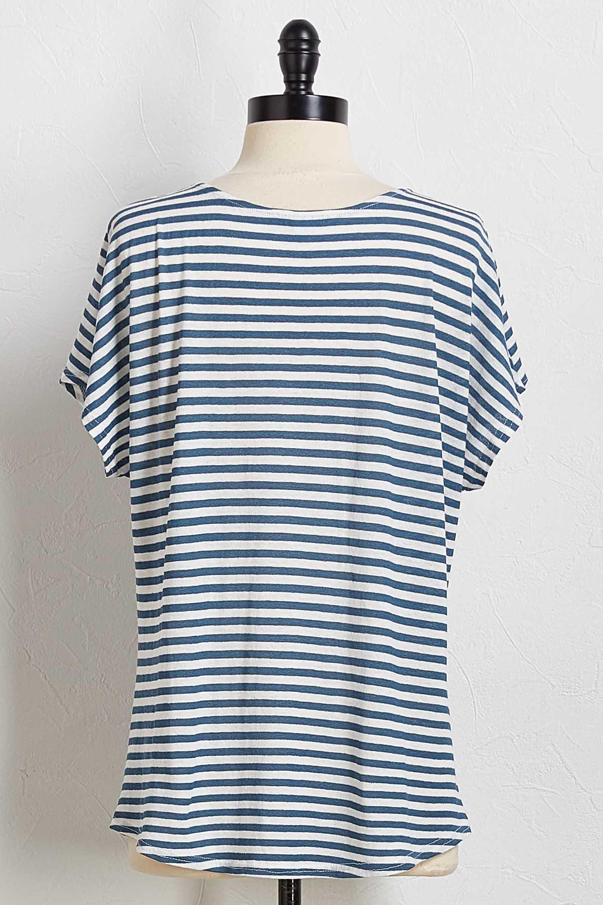 Mitered Knotted Tee