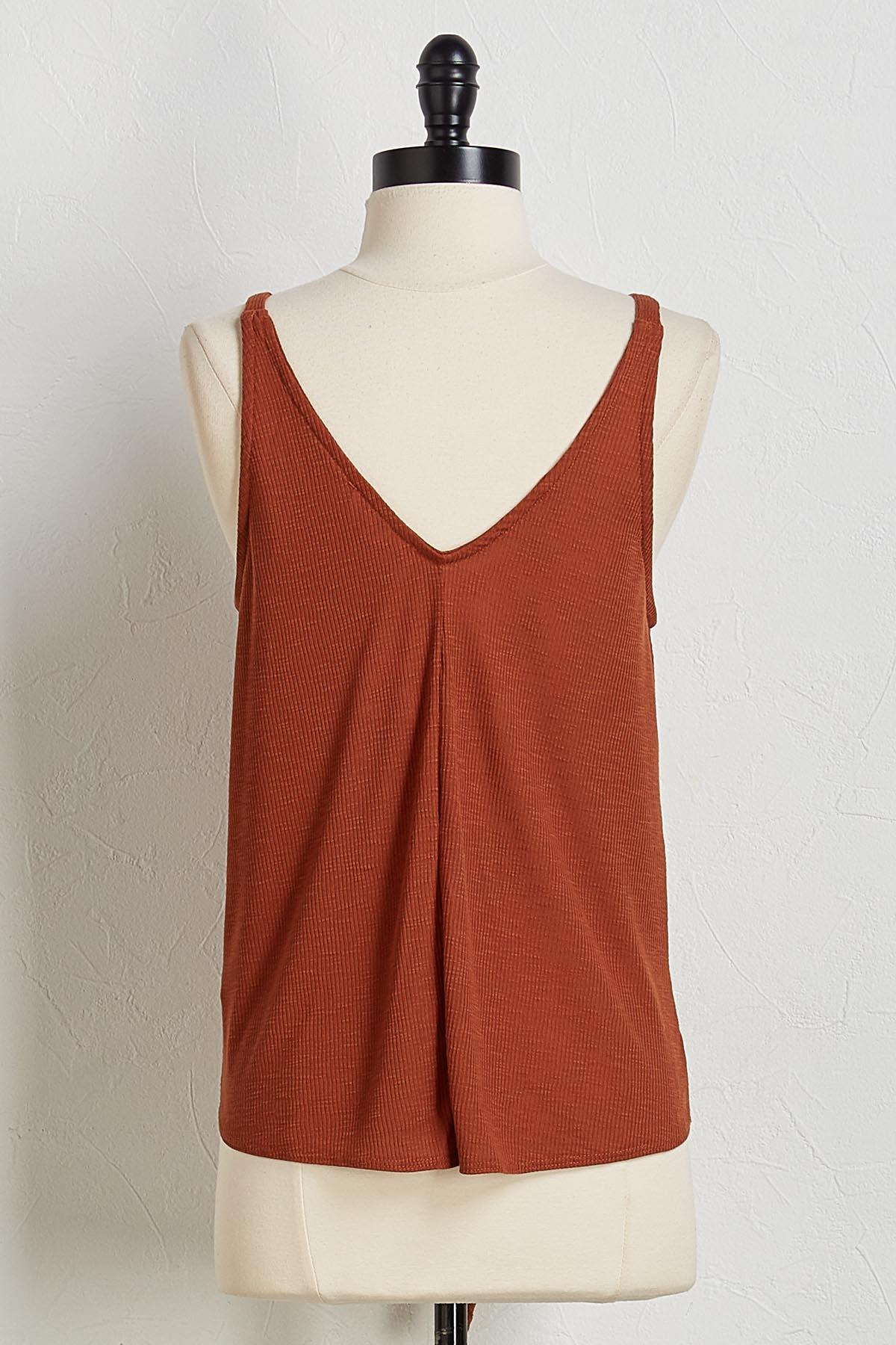 Ribbed Knotted Tank
