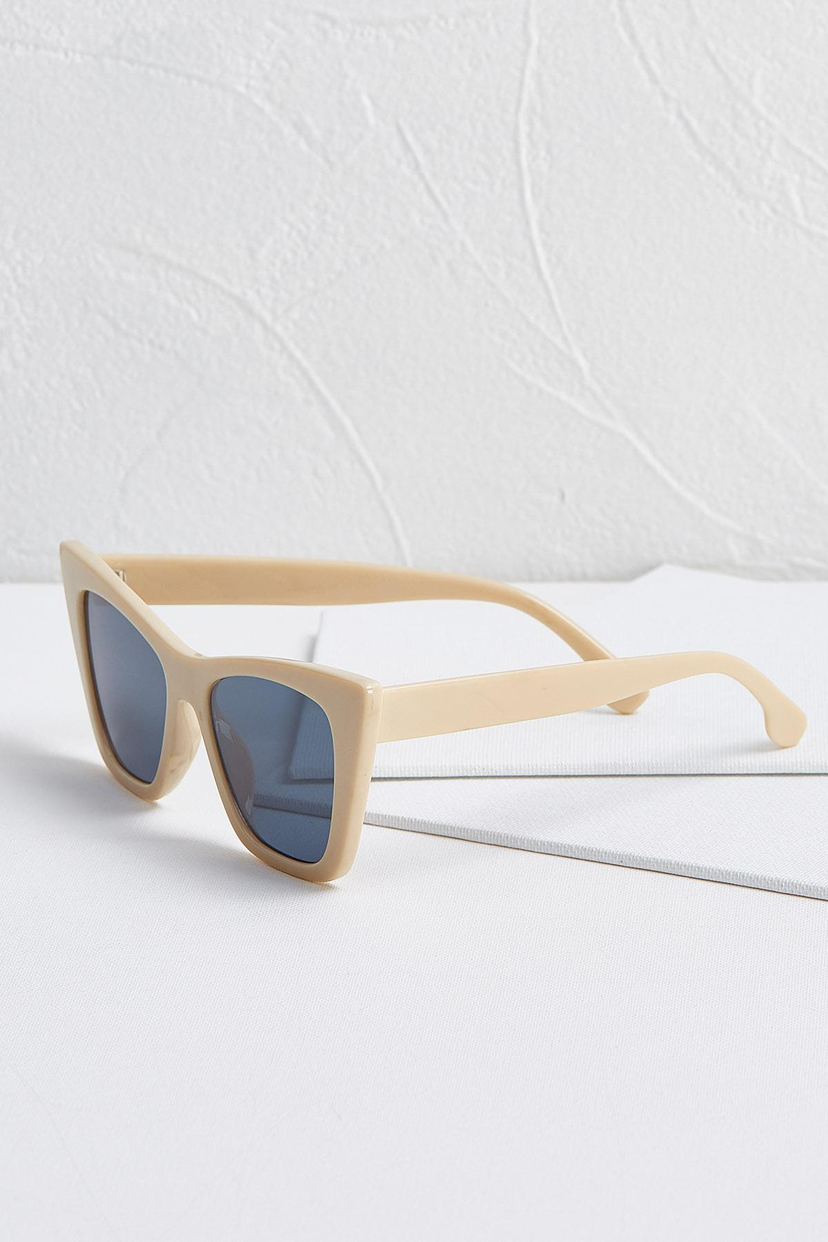 Nude Cat Eye Sunglasses