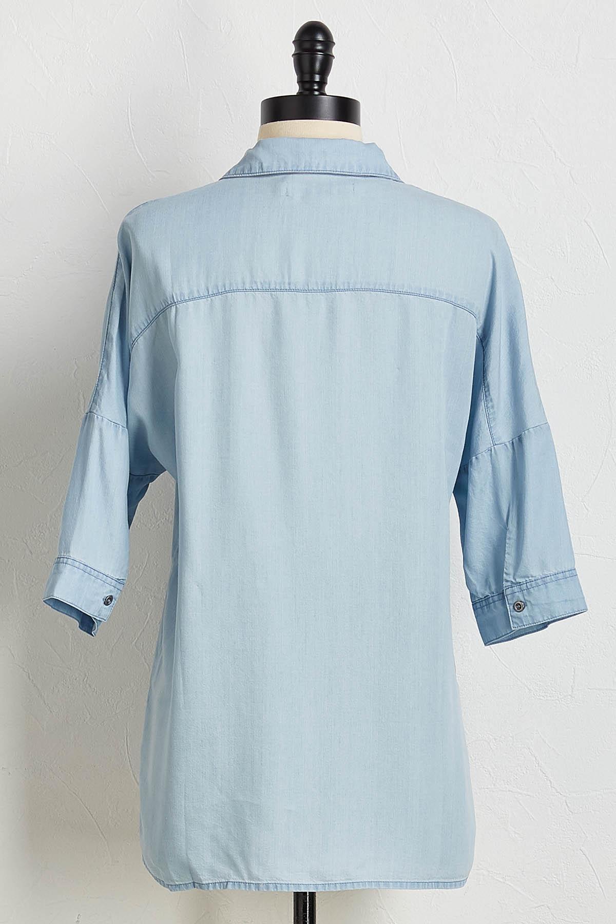 Denim Daze Button Down Shirt