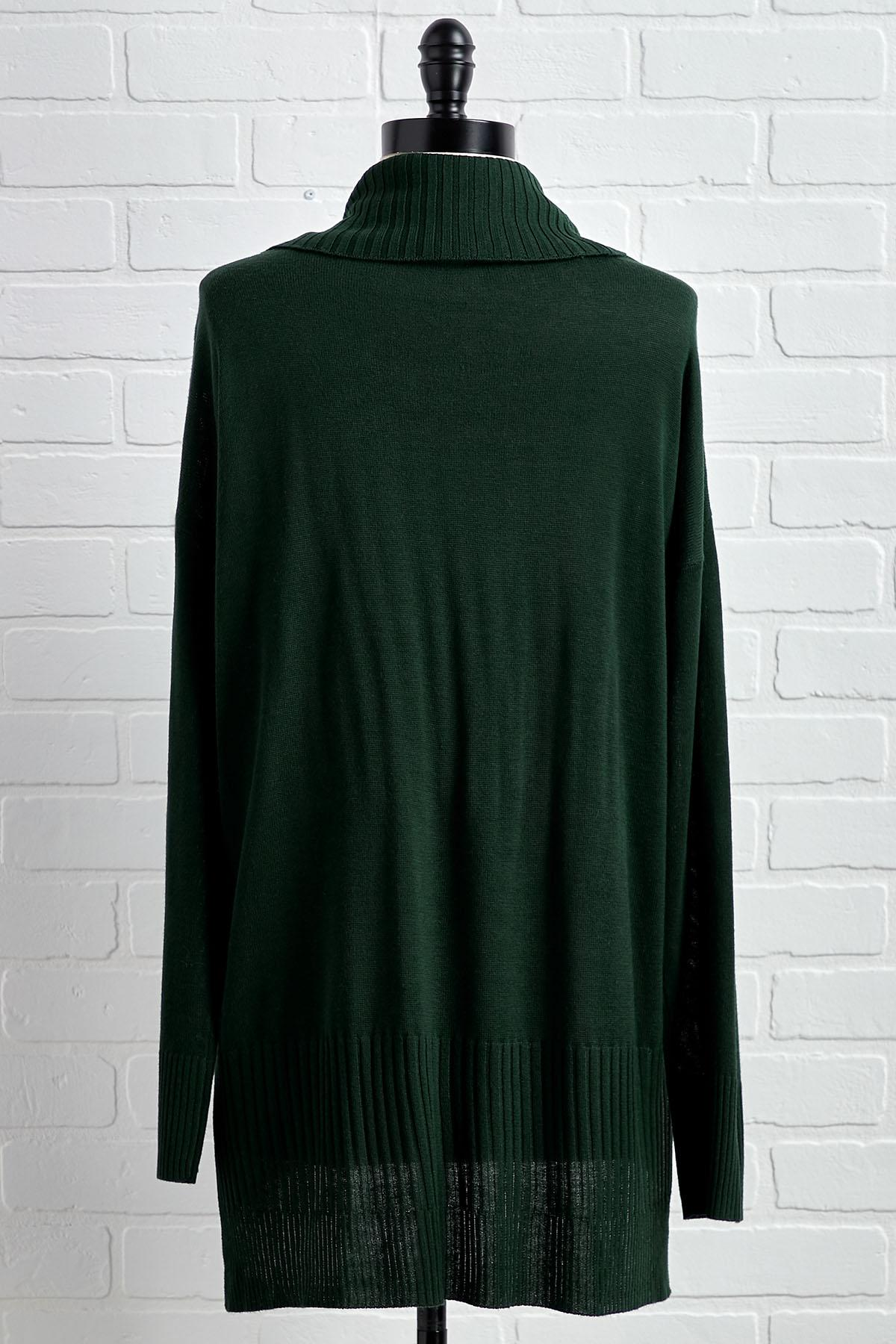 Long Winter Day Tunic Sweater