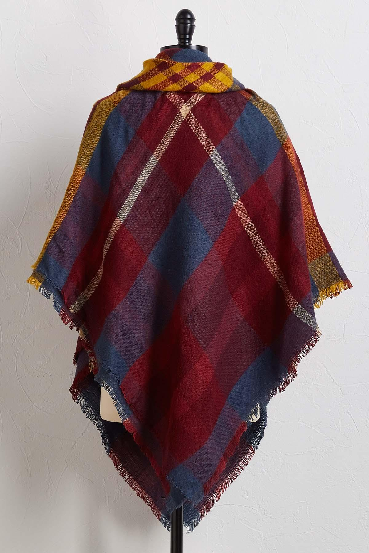 Teal Or No Teal Poncho