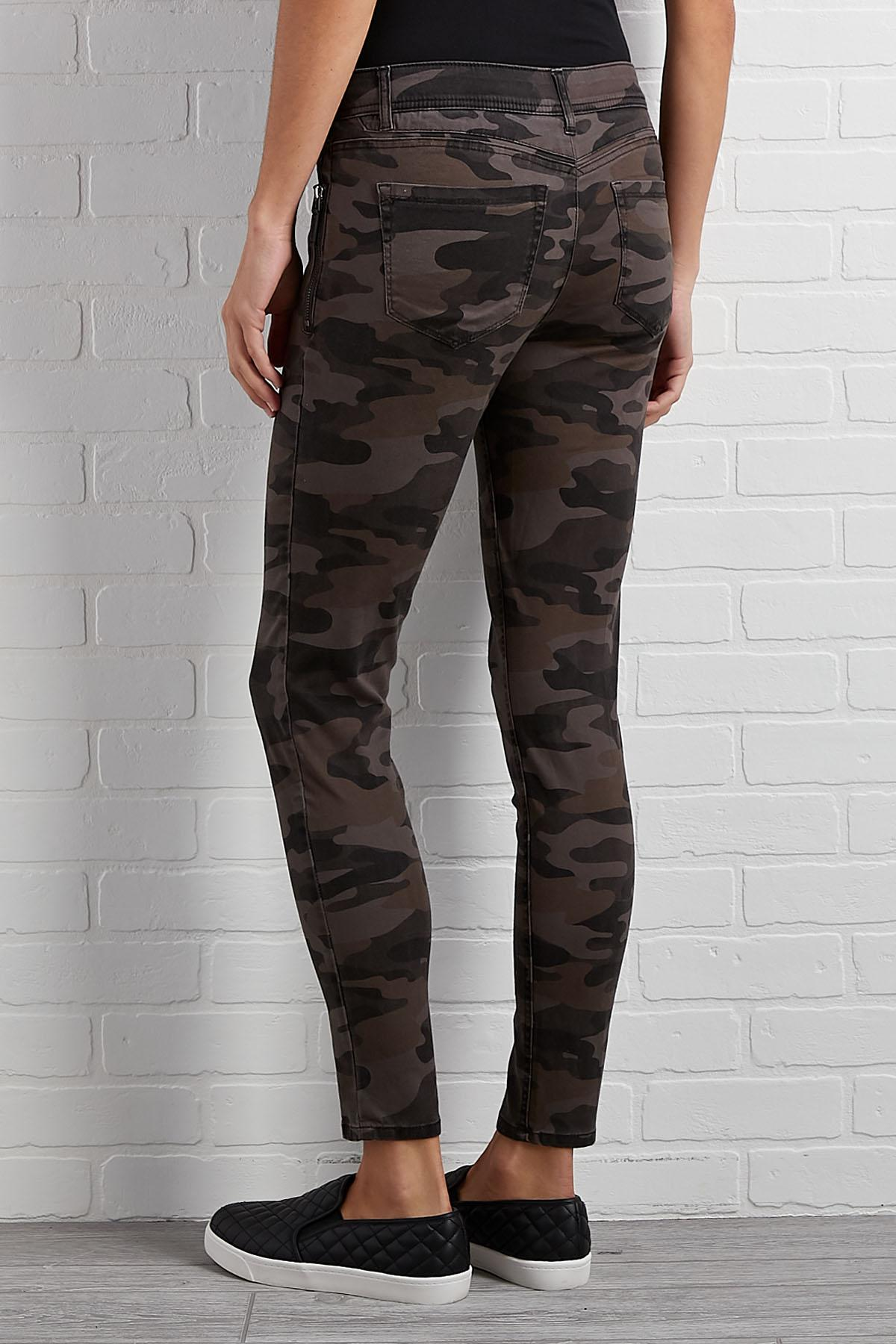 Camo Utility Jeggings