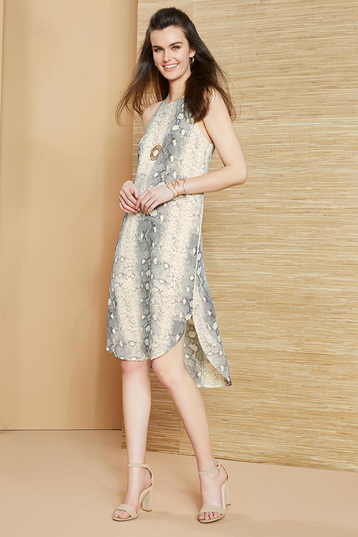 Cold Blooded Midi Dress