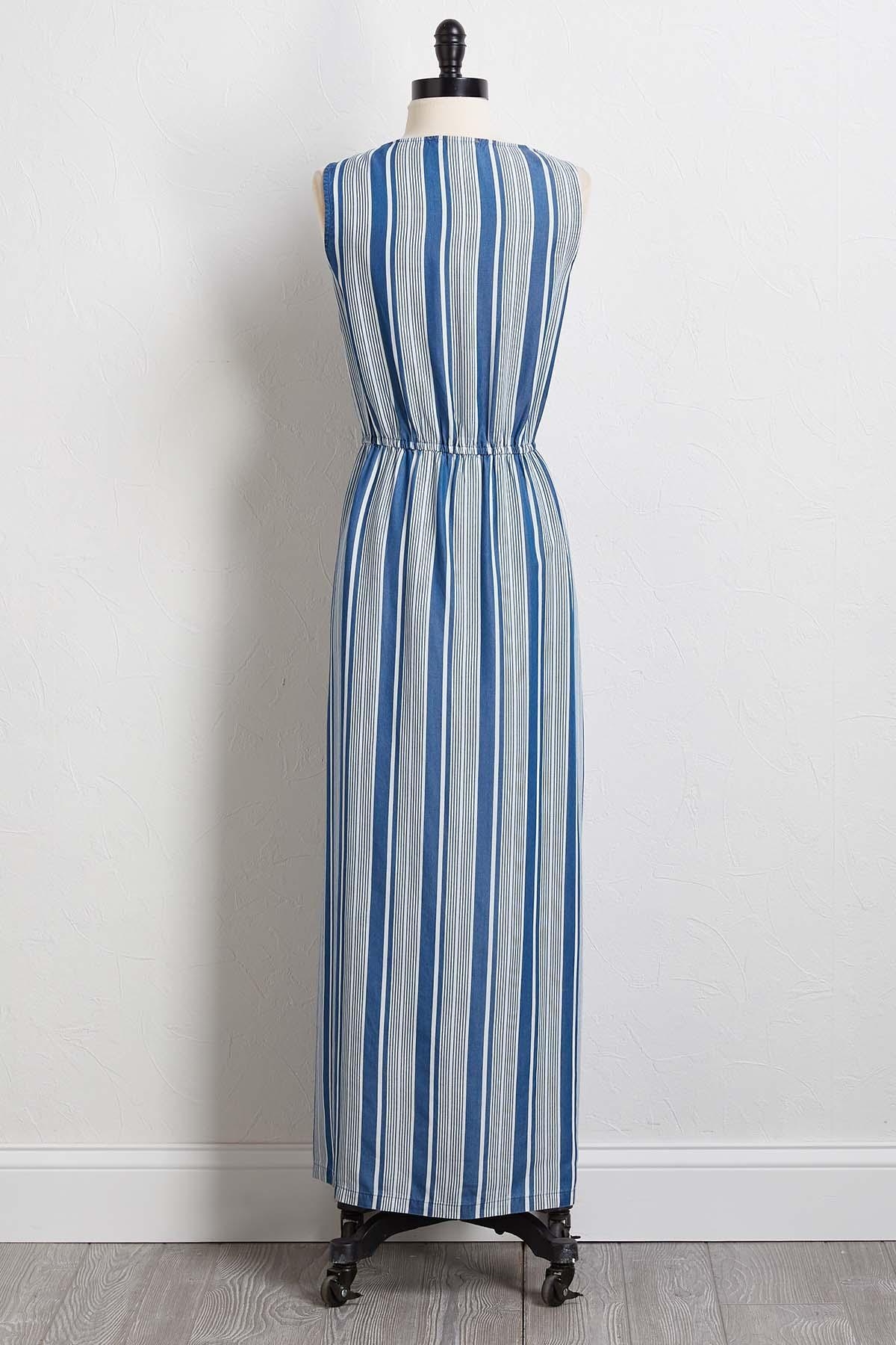 Denim Dreams Maxi Dress