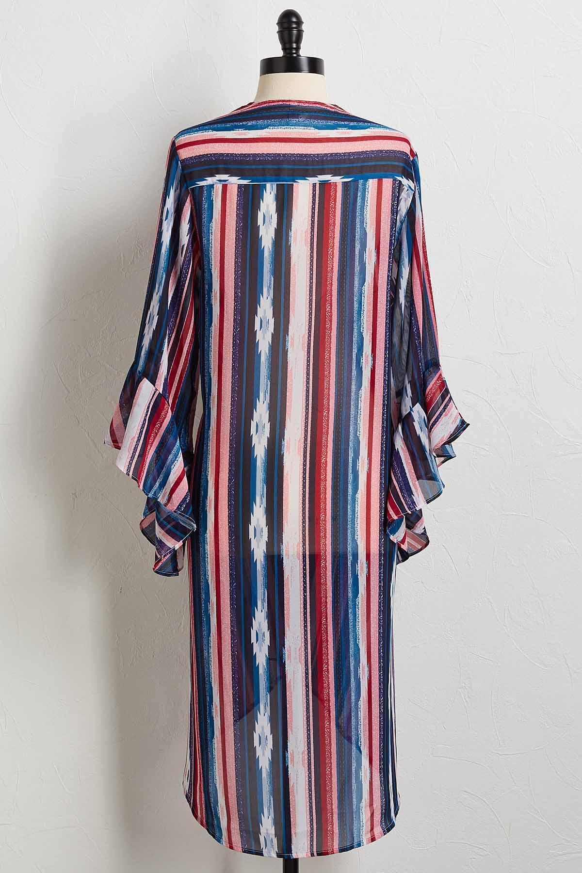 Can You Sheer Me Now Kimono