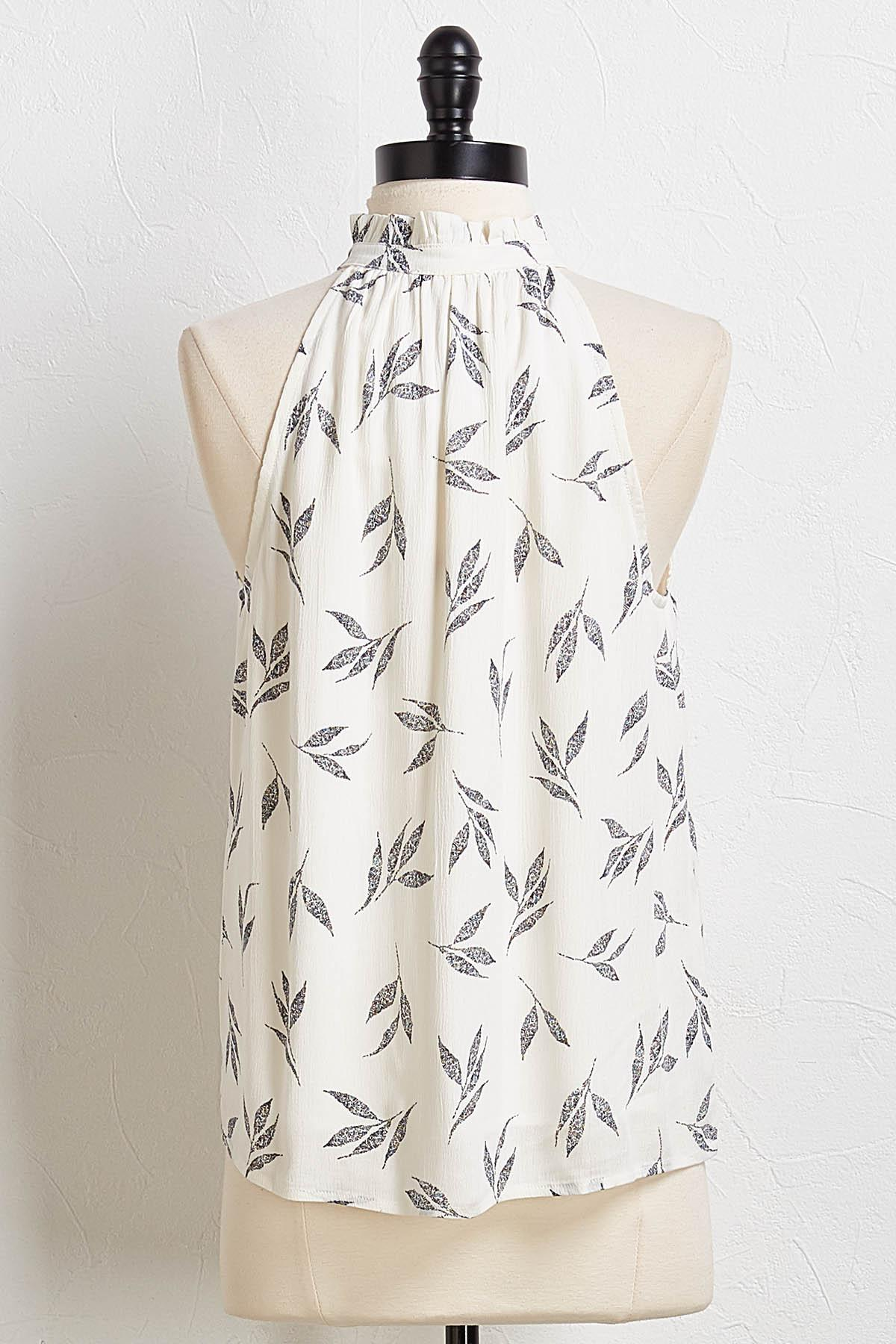Ruffled Leaf Swing Tank