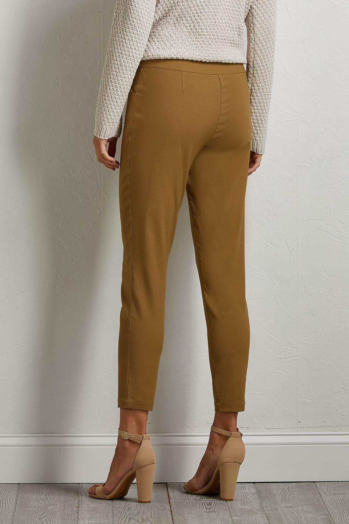 Twill Ribbed Pants