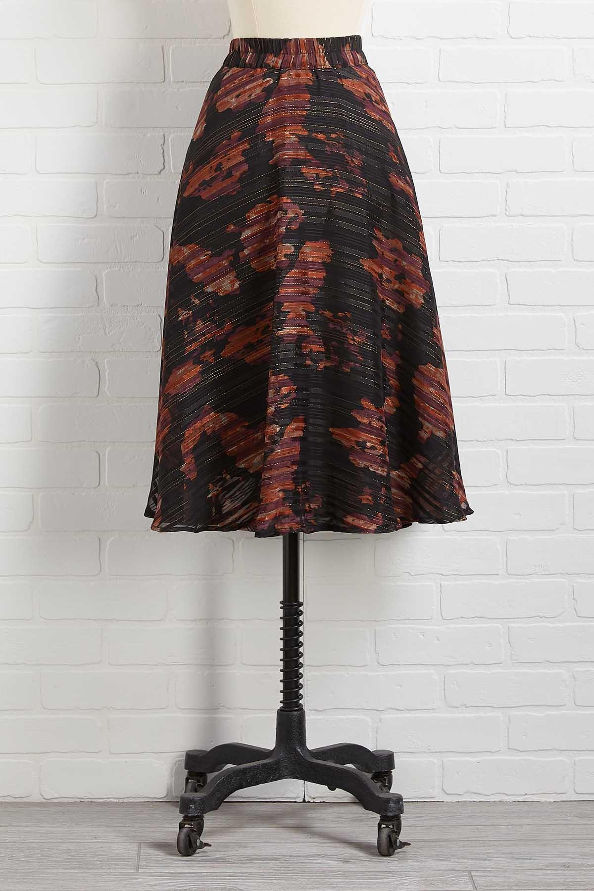 Fall In Line Skirt