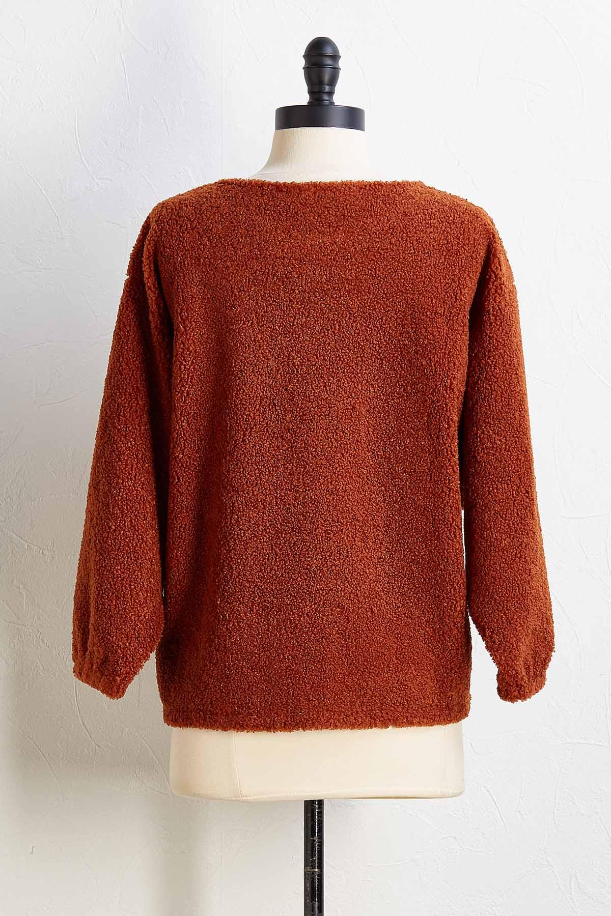 Soft Spot Sherpa Sweater