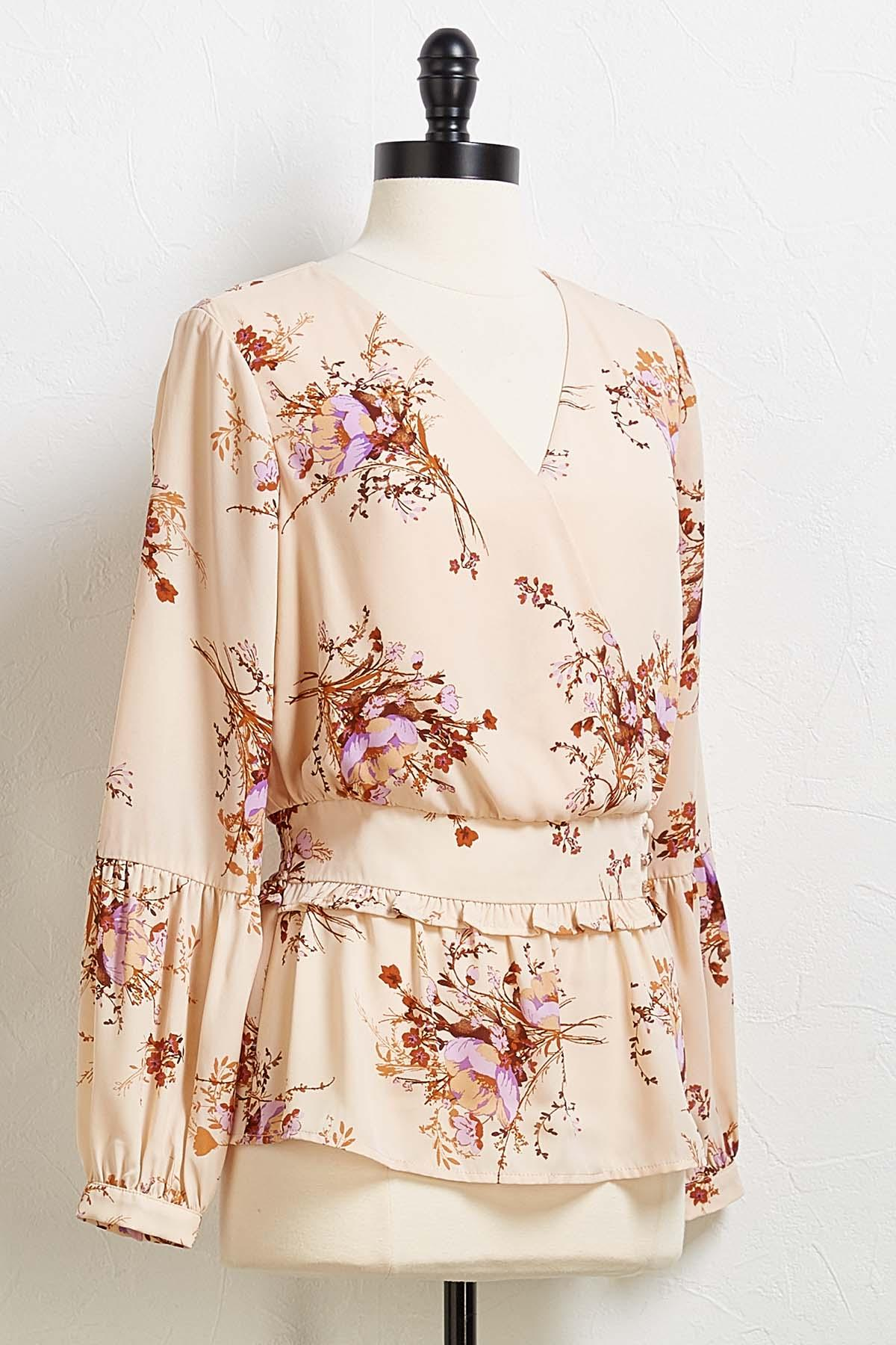 Floral Spice Top