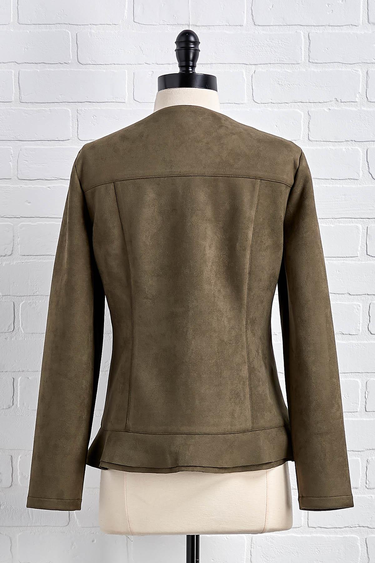 Suede Ya Look Jacket